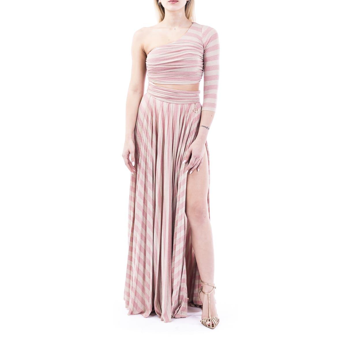 Buy Elisabetta Franchi Viscose Blend Dress online, shop Elisabetta Franchi Celyn B. with free shipping
