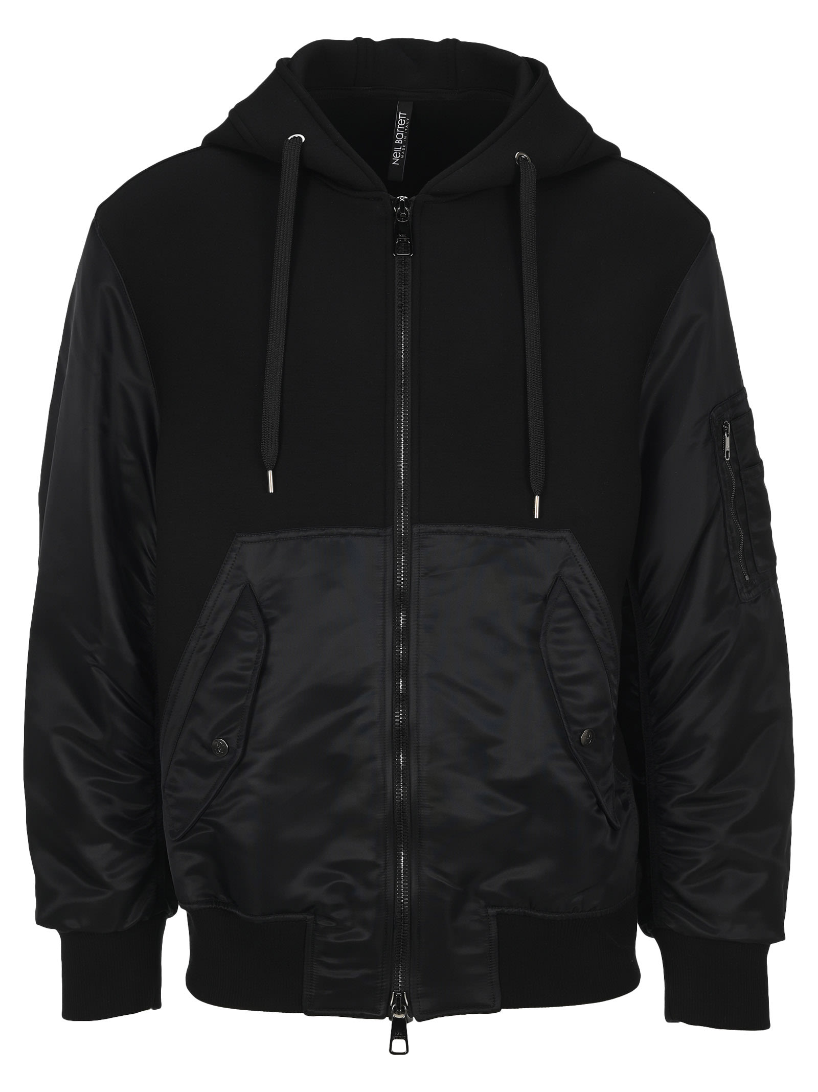 Neil Barrett Paneled Hooded Jacket