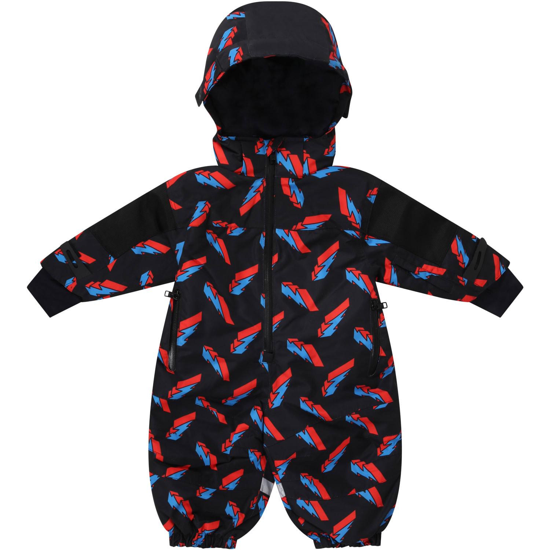Stella McCartney Kids Black Overall For Babykids