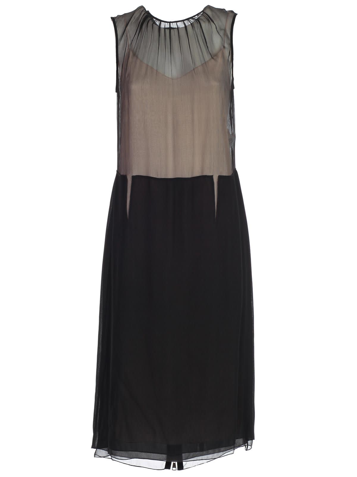 Buy N.21 Dress W/s Chiffon Crepe W/zip Behind online, shop N.21 with free shipping