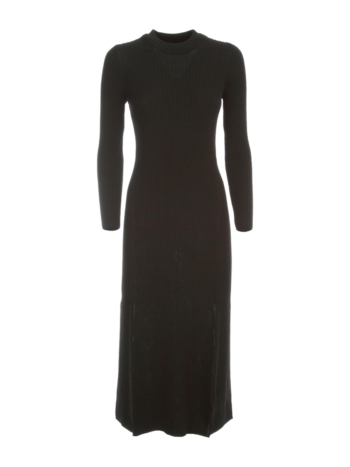 Maison Margiela Rear Logo Slim Long Dress