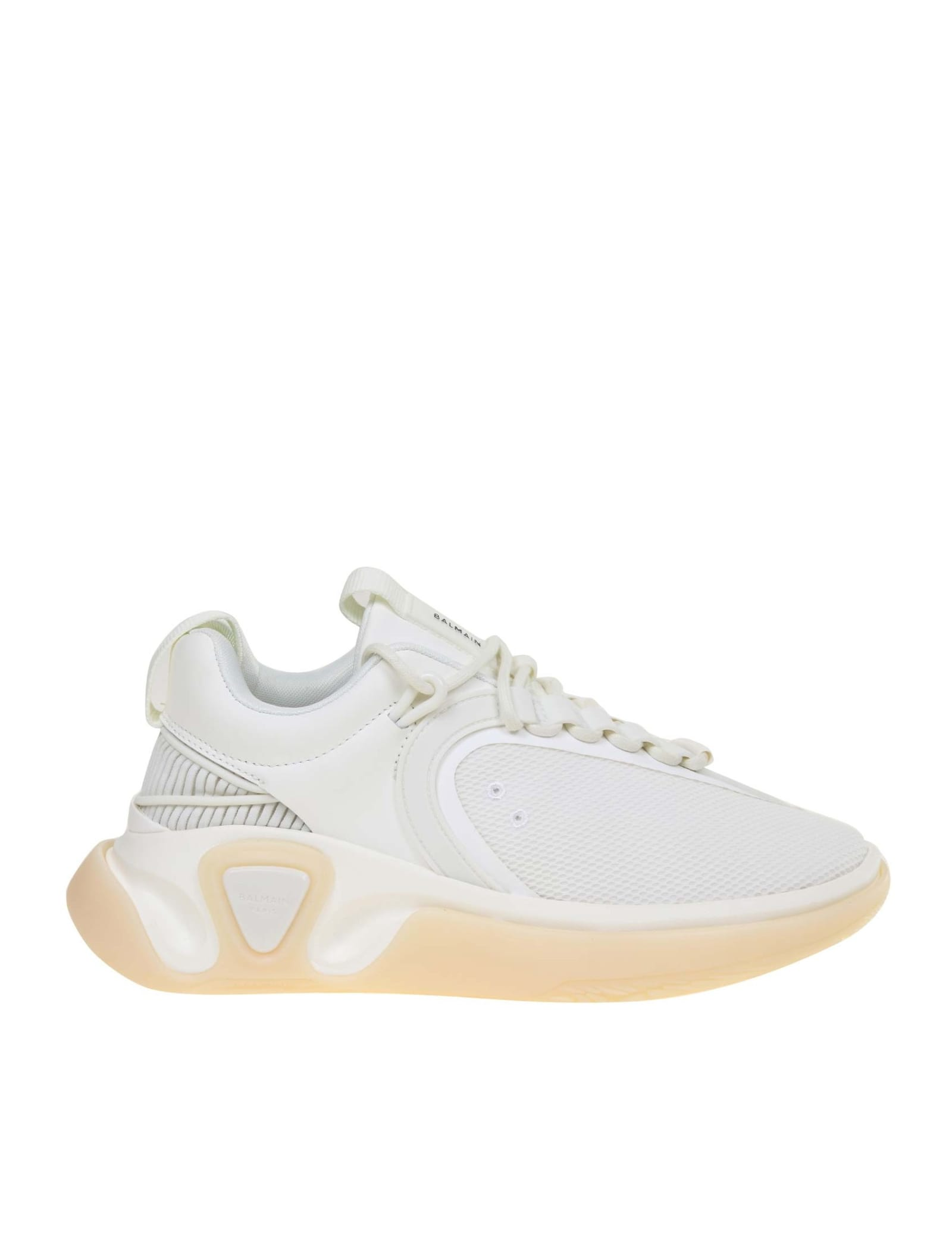 Balmain Activewears SNEAKERS B RUNNER IN NYLON COLOR WHITE