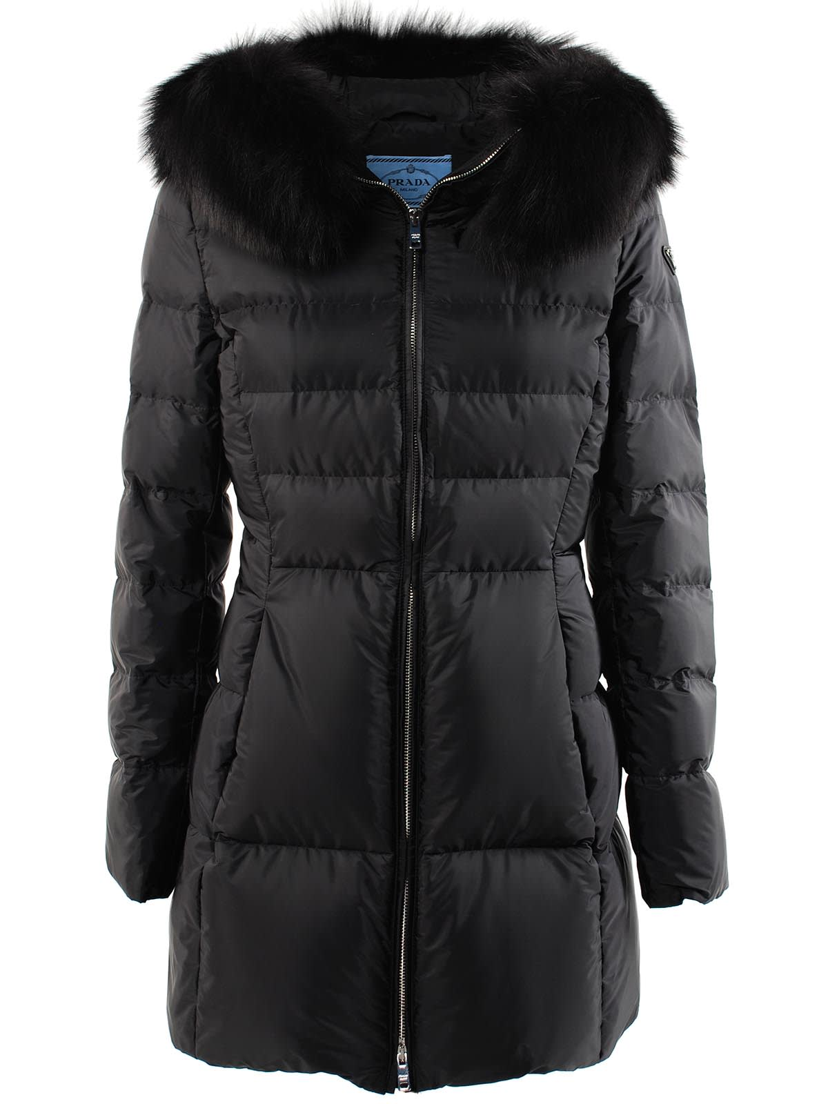 Prada Down Jacket Nylon/fox