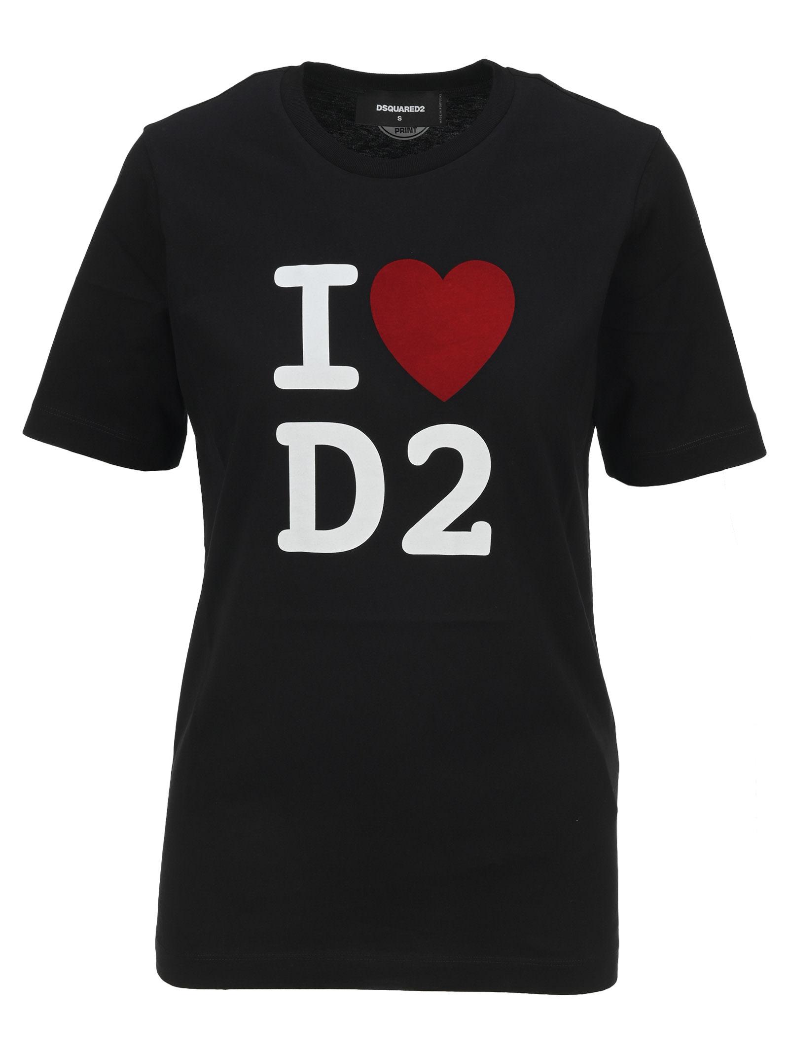 D Squared i Love D2 T-shirt