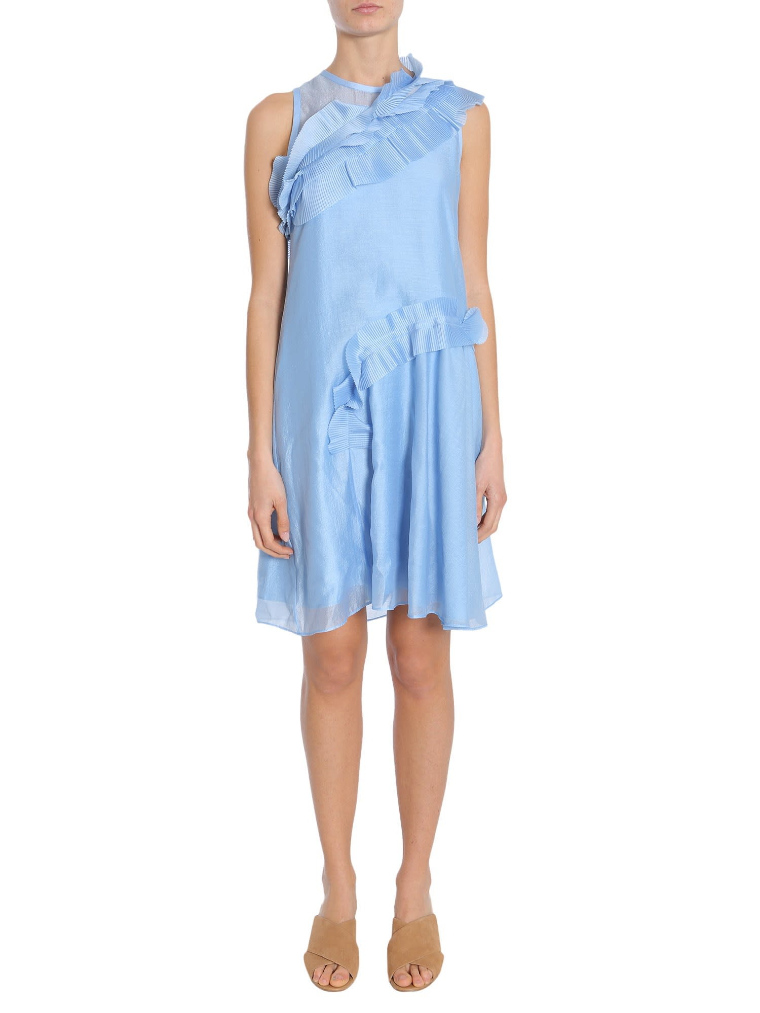 Buy Carven Sleeveless Dress online, shop Carven with free shipping
