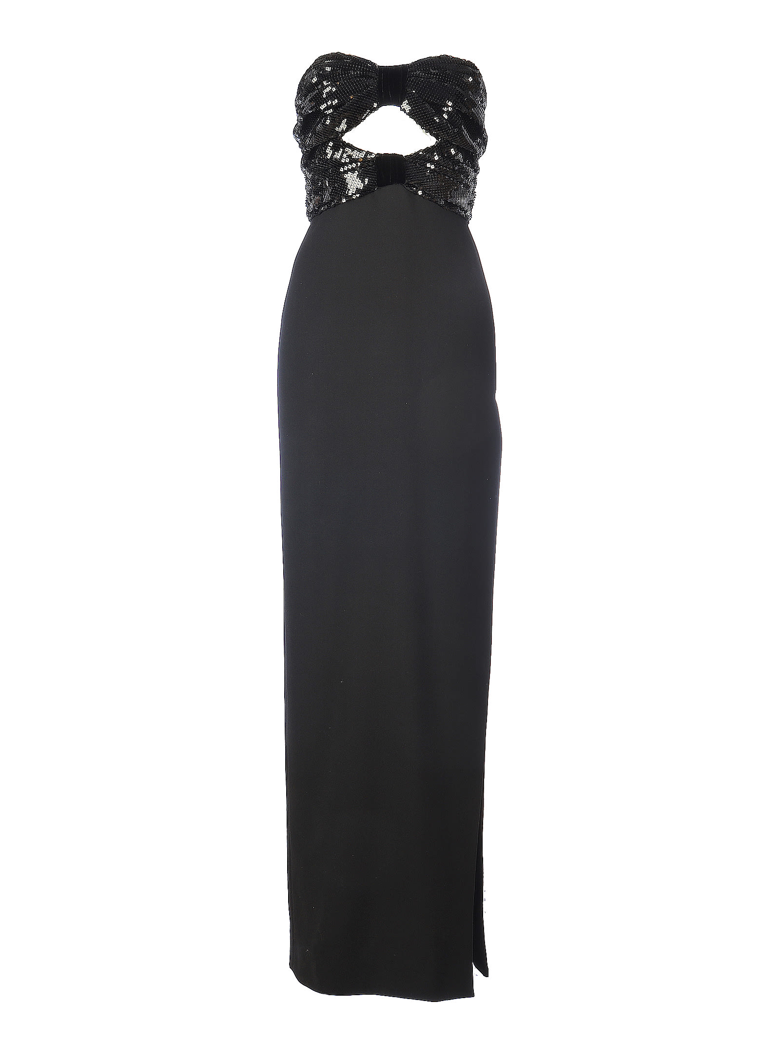 Buy Saint Laurent Evening Paillettes Maxi Dress online, shop Saint Laurent with free shipping