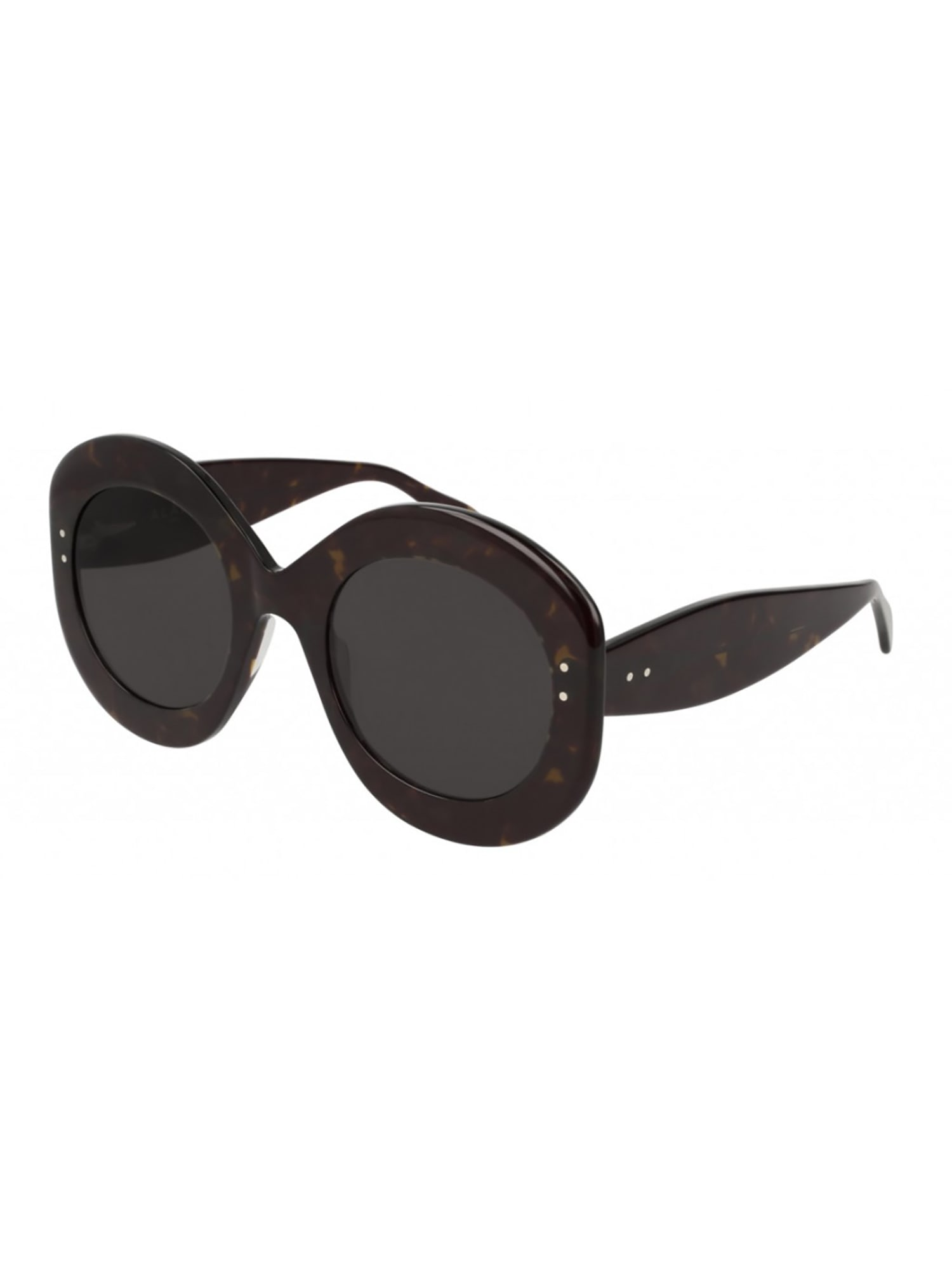 Alaïa Aa0003s Sunglasses In Havana Havana Grey