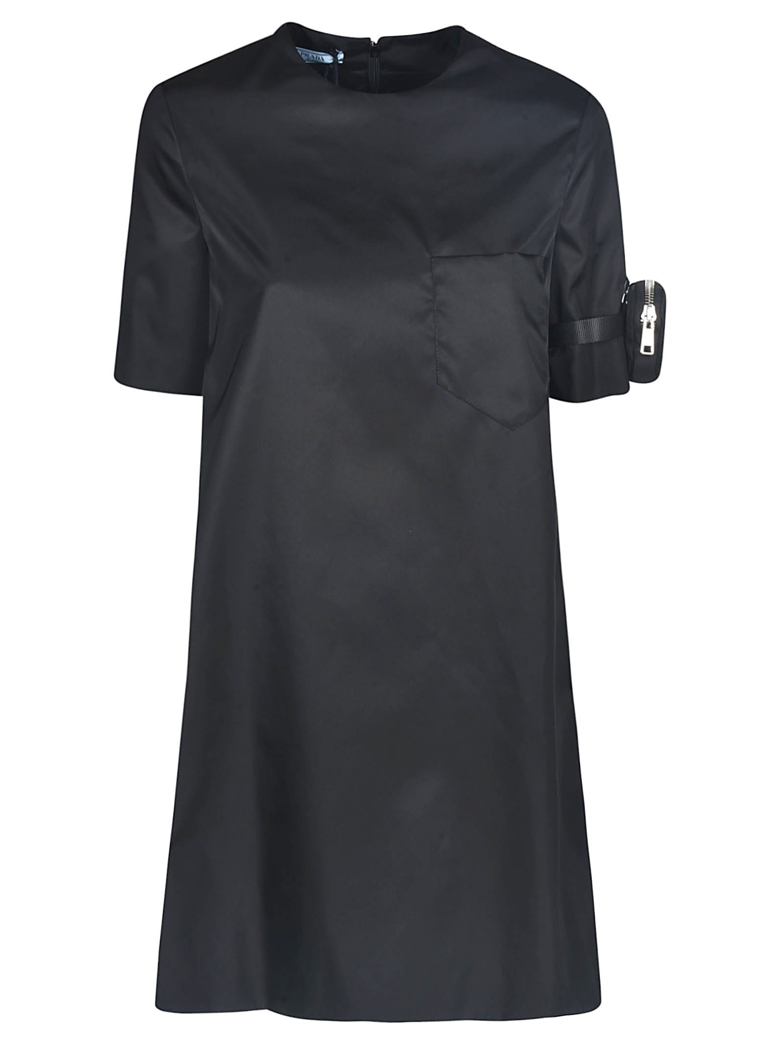 Buy Prada Gabardine Dress online, shop Prada with free shipping