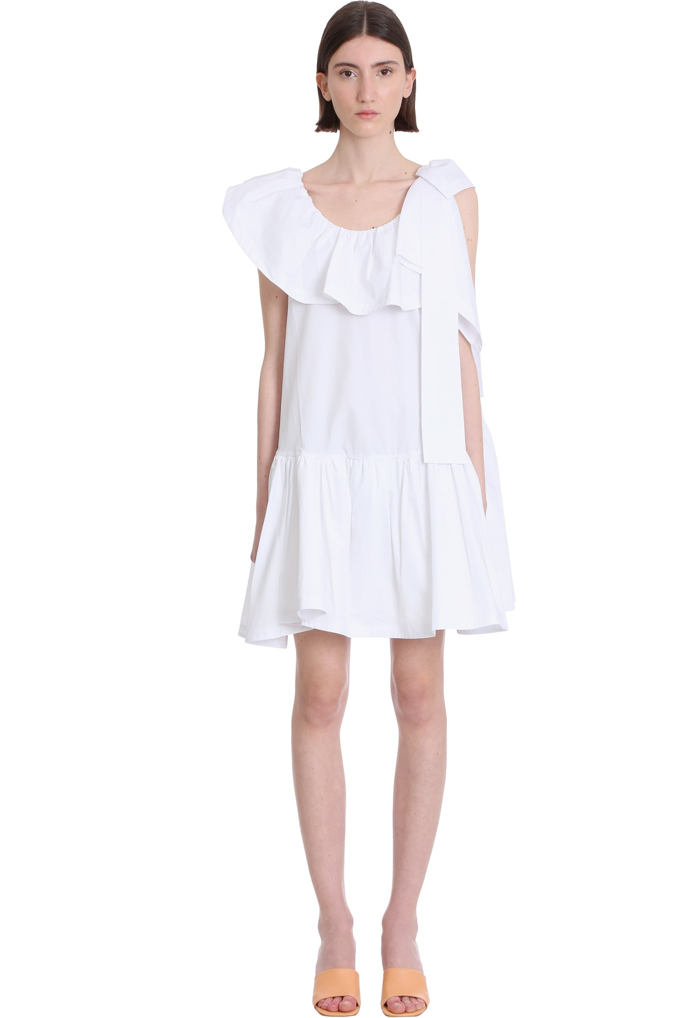 Buy 3.1 Phillip Lim Tent Dress In White Cotton online, shop 3.1 Phillip Lim with free shipping
