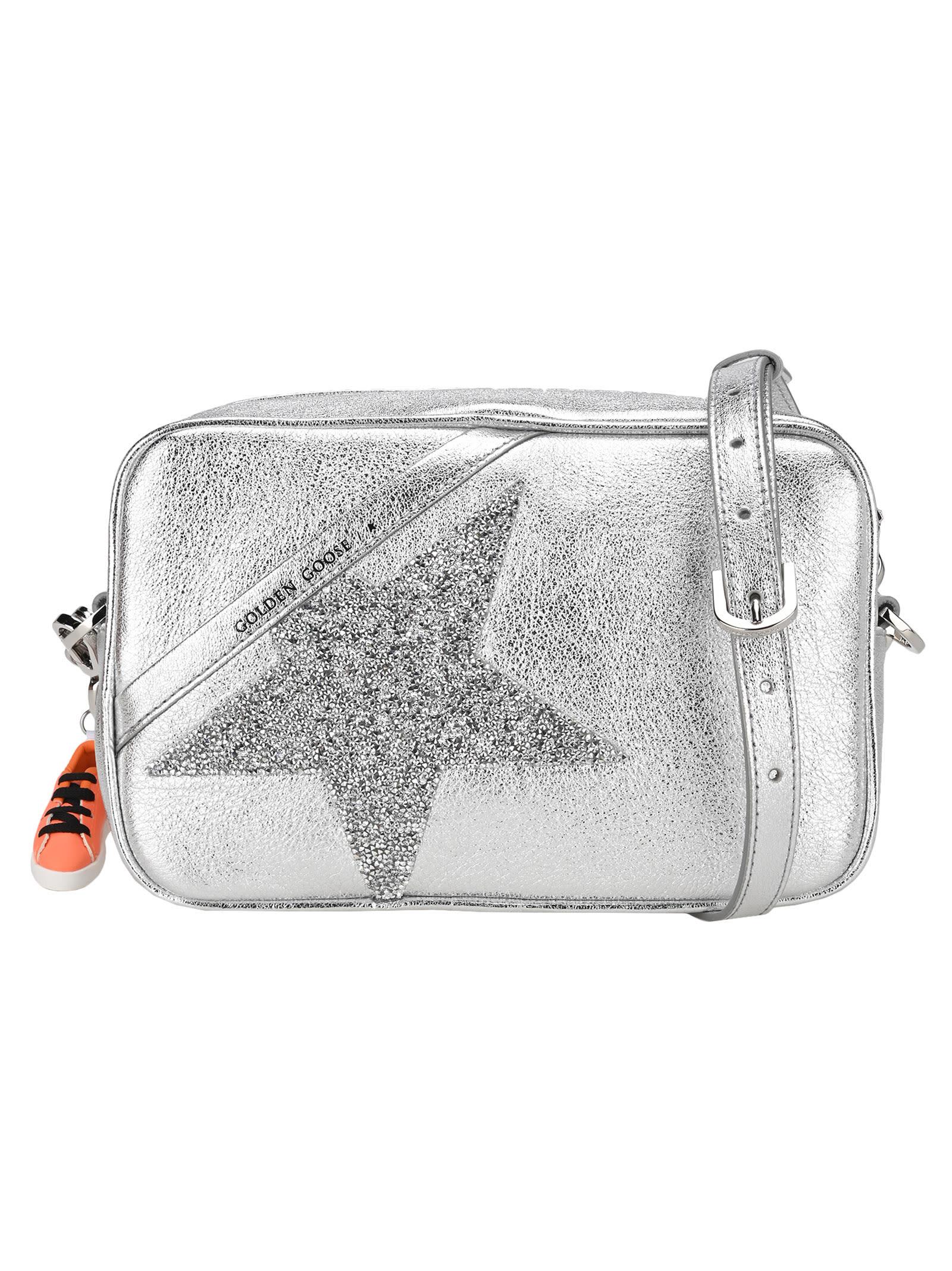 Golden Goose STAR CRYSTAL-EMBELLISHED CROSSBODY BAG SHOULDER BAG