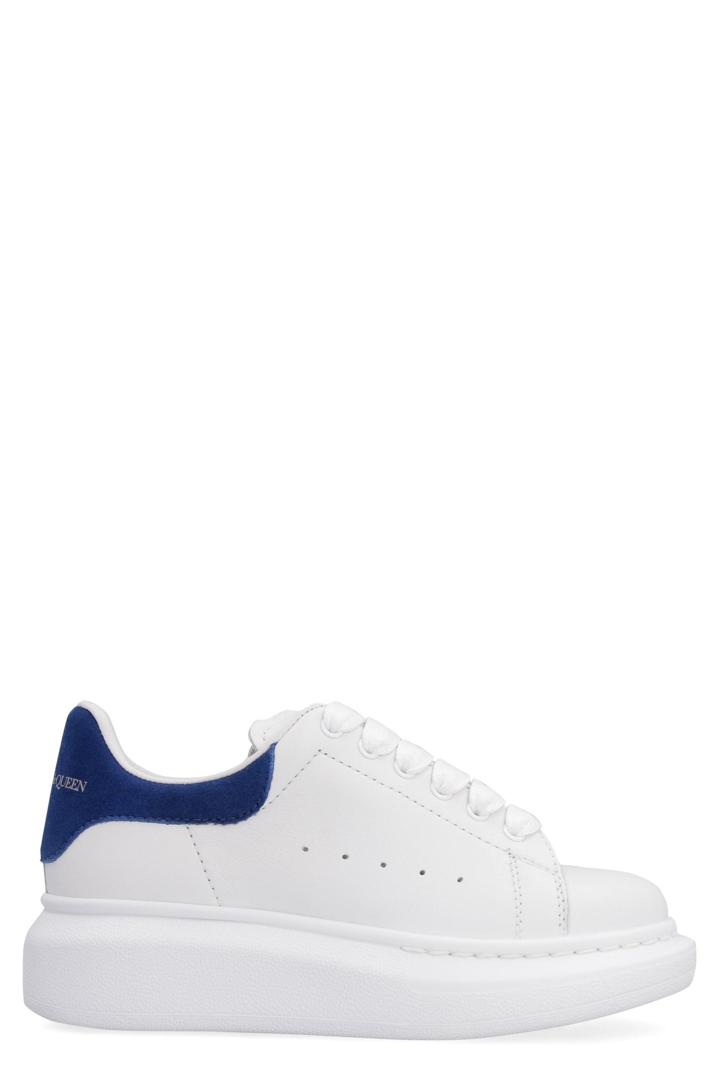 Alexander McQueen Molly Leather Low-top Sneakers