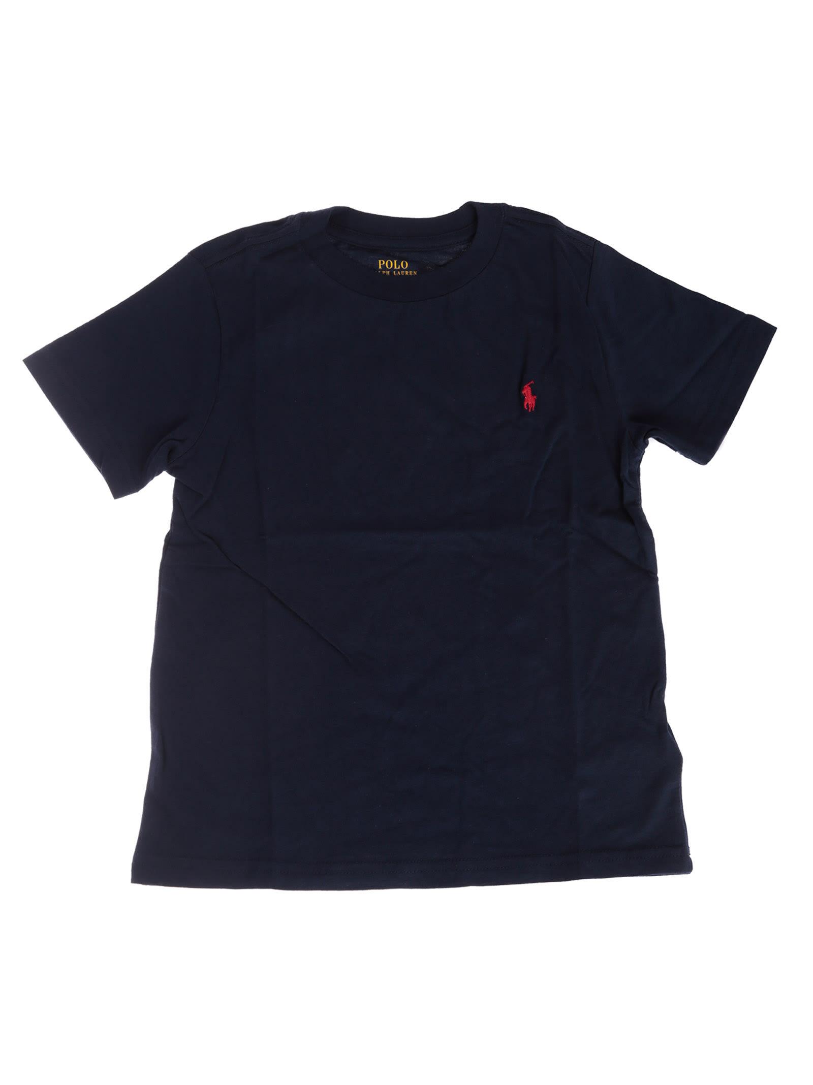 Round T Ralph Lauren Neck Shirt 10955945 Polo trsQChd
