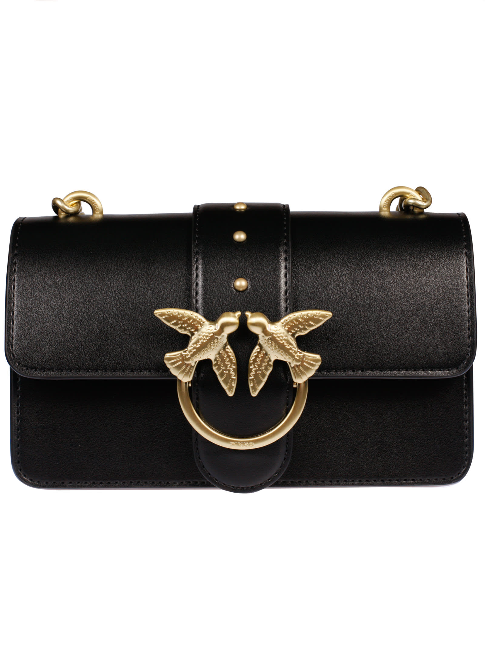 new product b62e1 df1f7 Best price on the market at italist | Pinko Pinko Mini Love Simply Shoulder  Bag