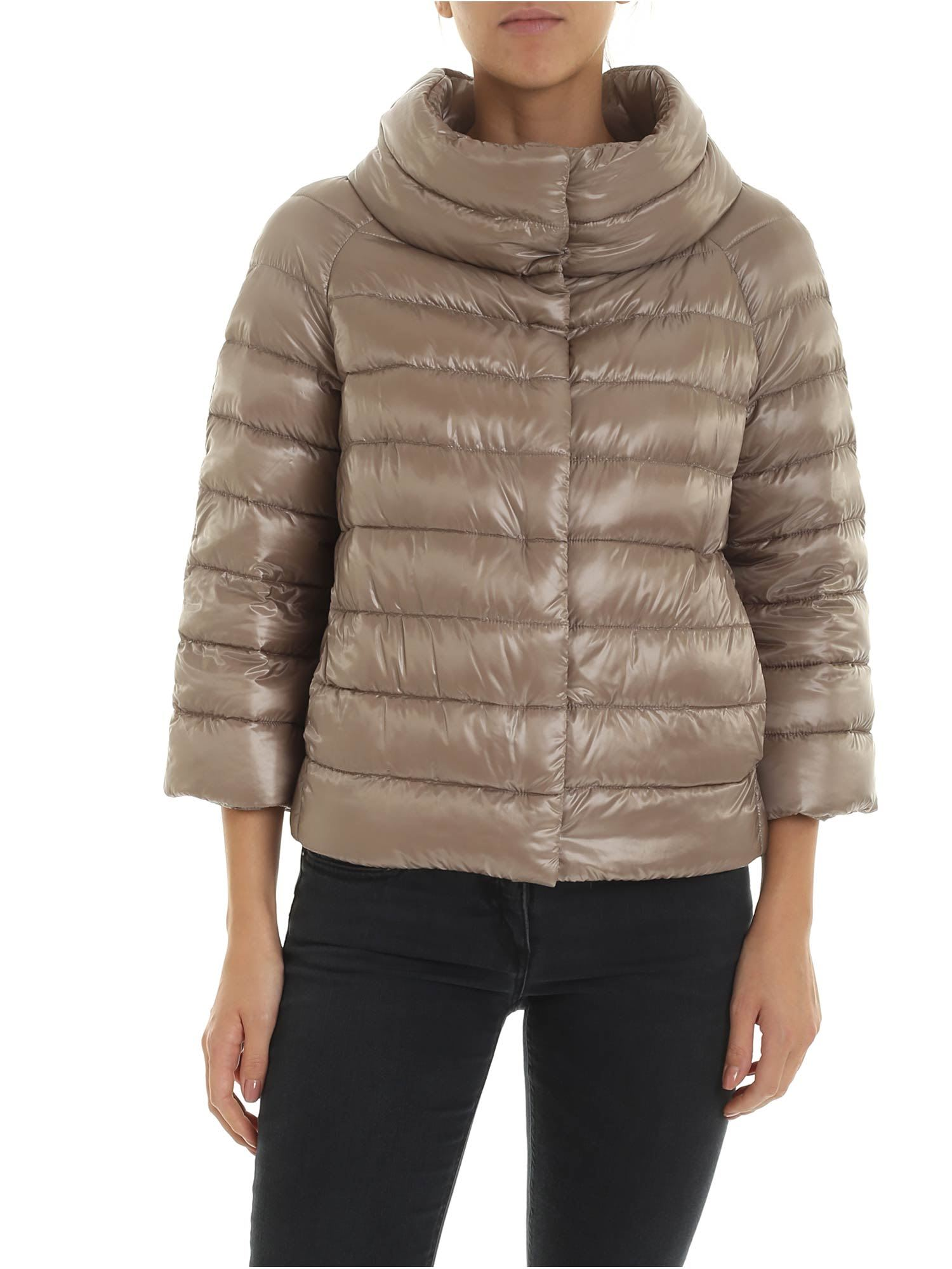 Herno Three-quartes Down Jacket