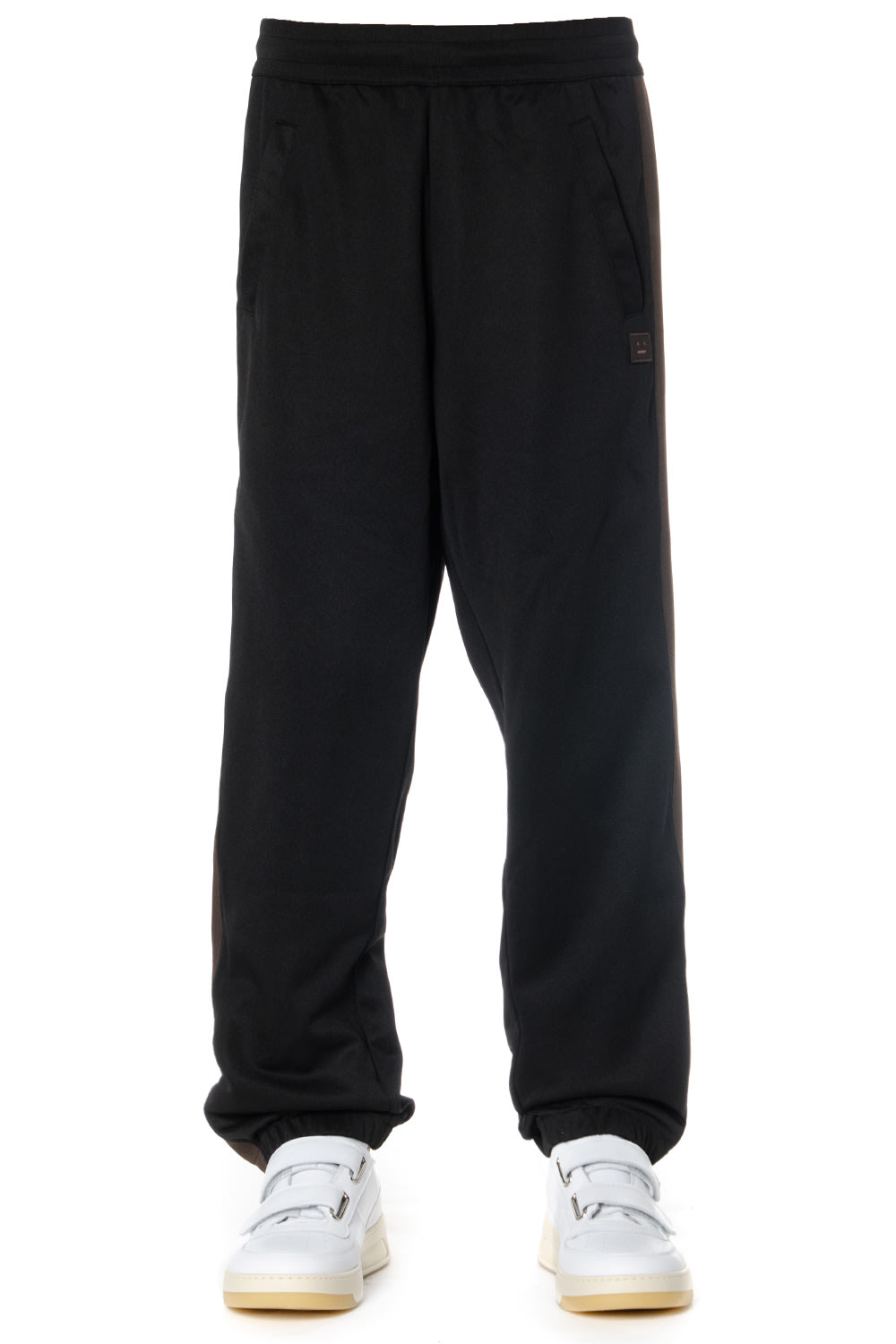 Acne Studios Black Bands Sport Pants