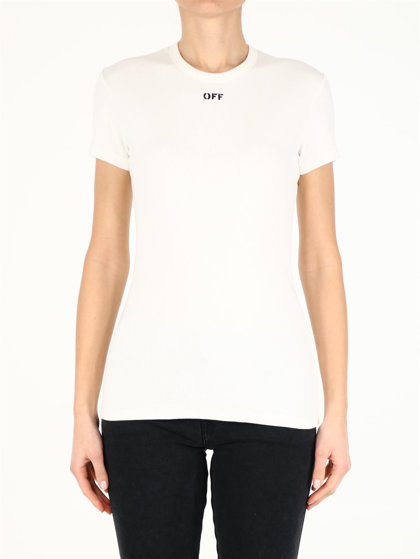 Off-White WHITE LOGO T-SHIRT
