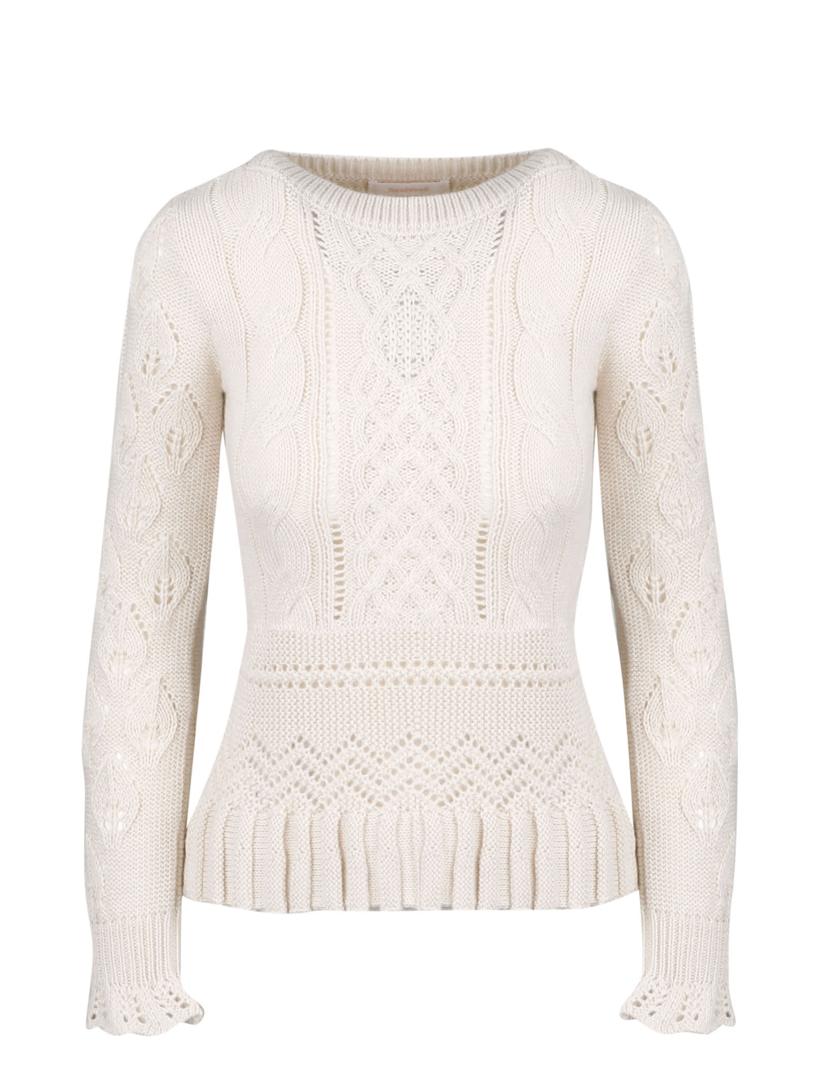 See by Chloé Ruffles Sweater