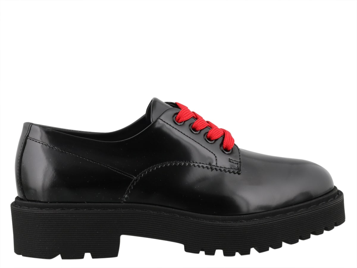 Hogan H543 DERBY LACED UP SHOES