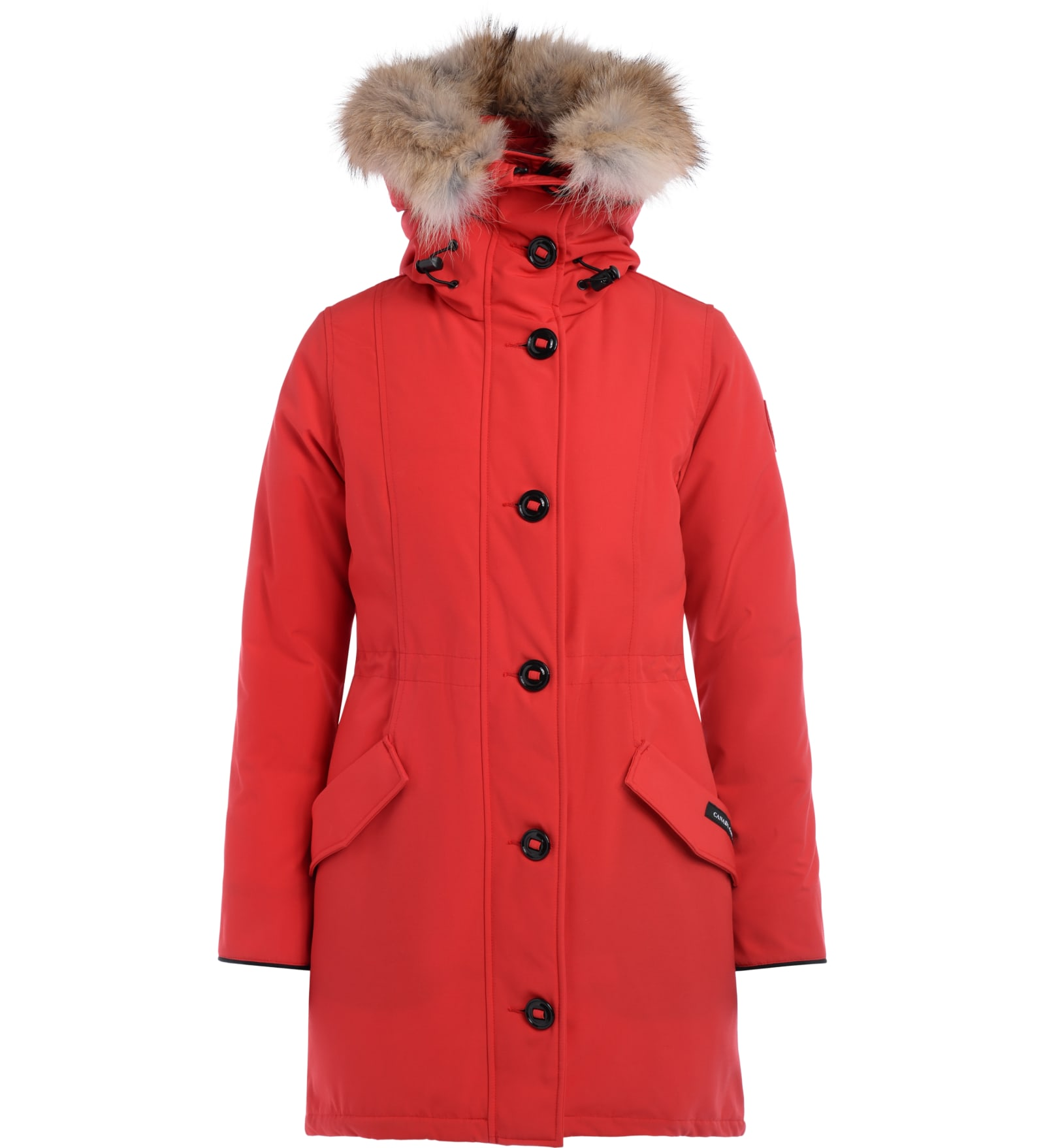 Parka Canada Goose Model Rossclair Red