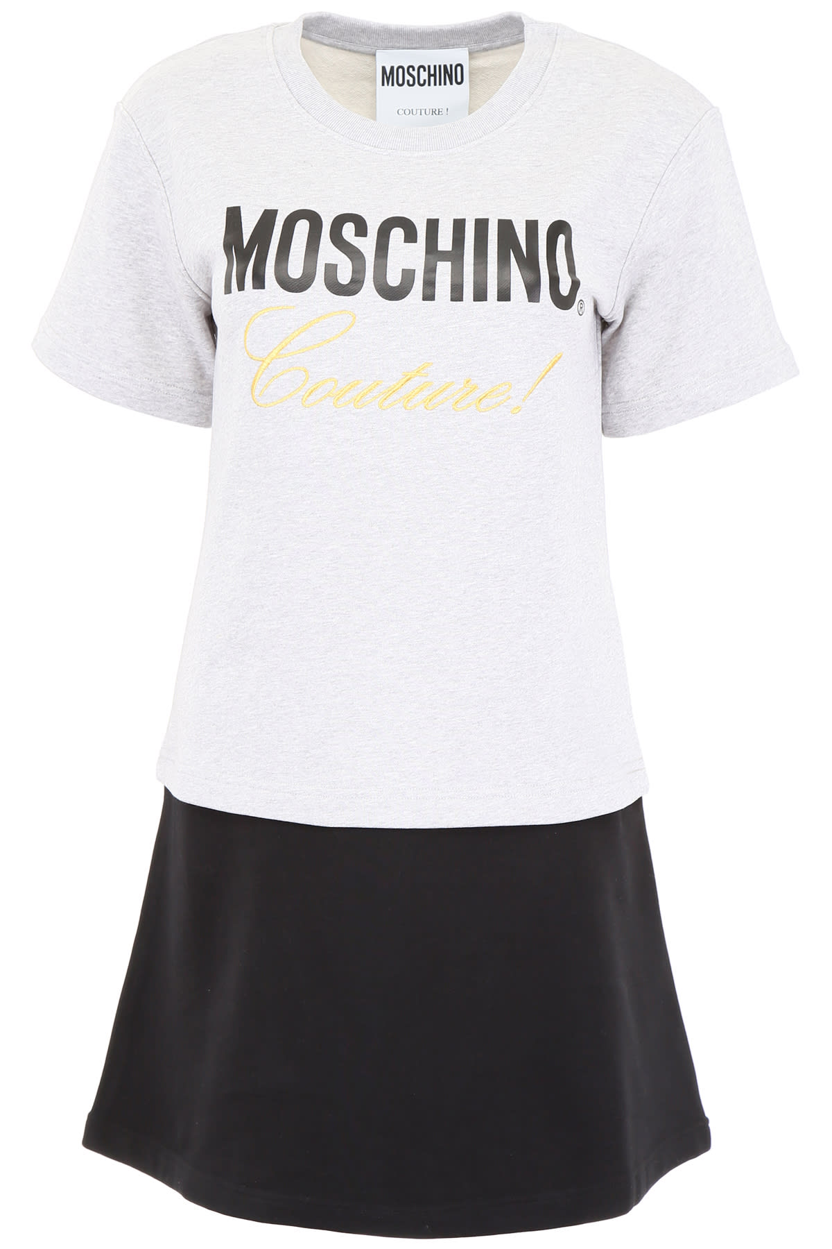 Moschino Sweatshirt Dress With Logo Print