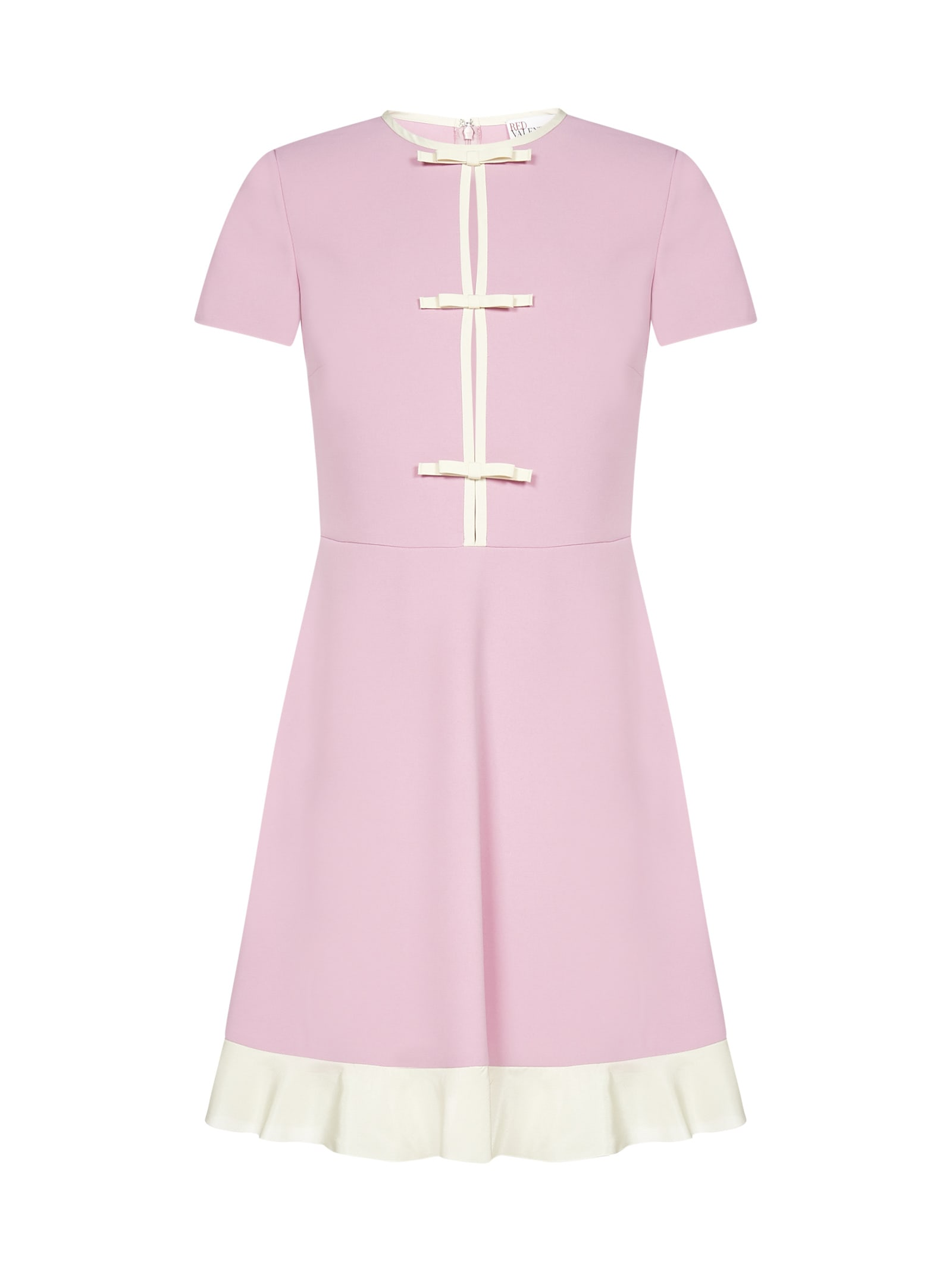 Buy RED Valentino Bow And Ruffle-detail Dress online, shop RED Valentino with free shipping