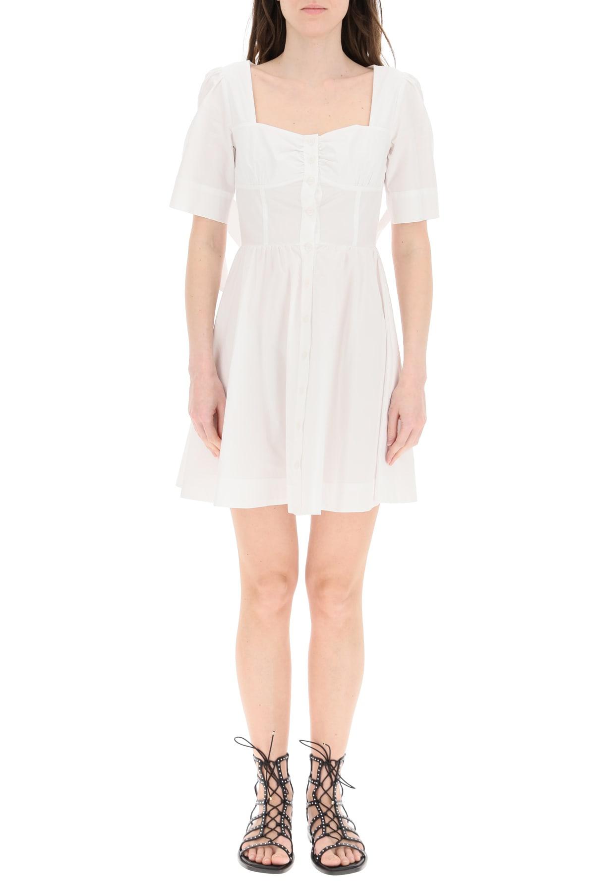 Pinko Cottons MINI SHIRT DRESS IN COTTON