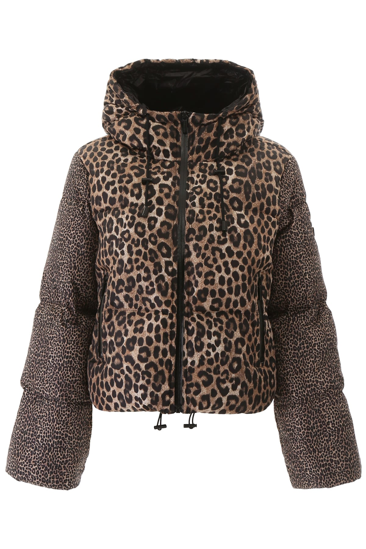 Photo of  MICHAEL Michael Kors Animalier Puffer Jacket- shop MICHAEL Michael Kors jackets online sales