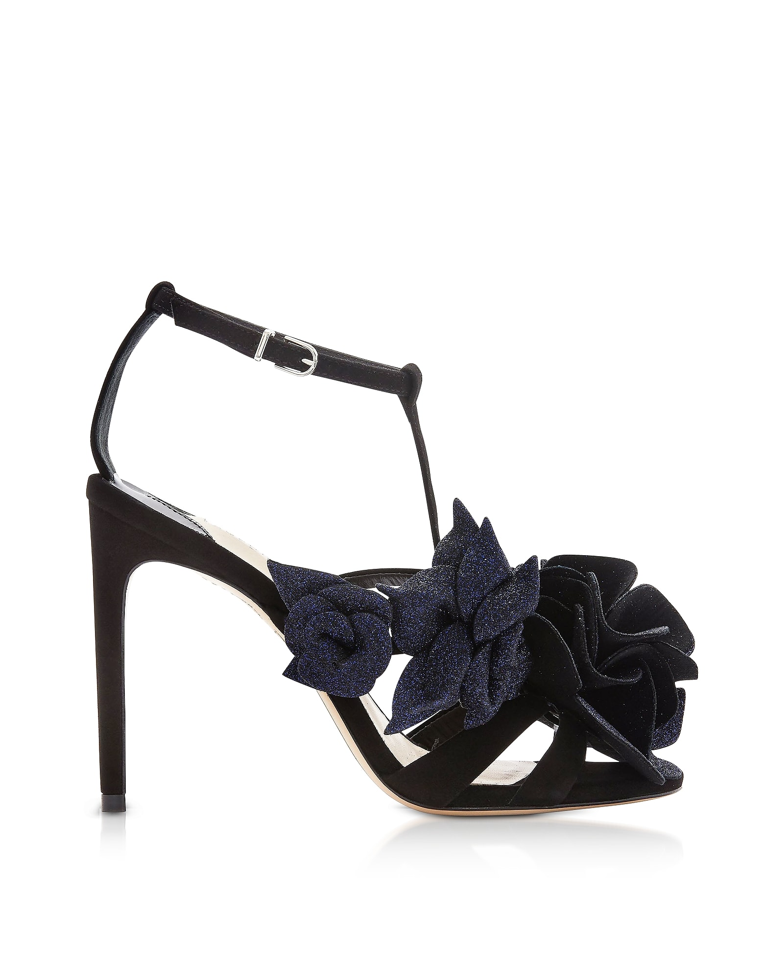 Sophia Webster Black & Midnight Jumbo Lilico Sandals