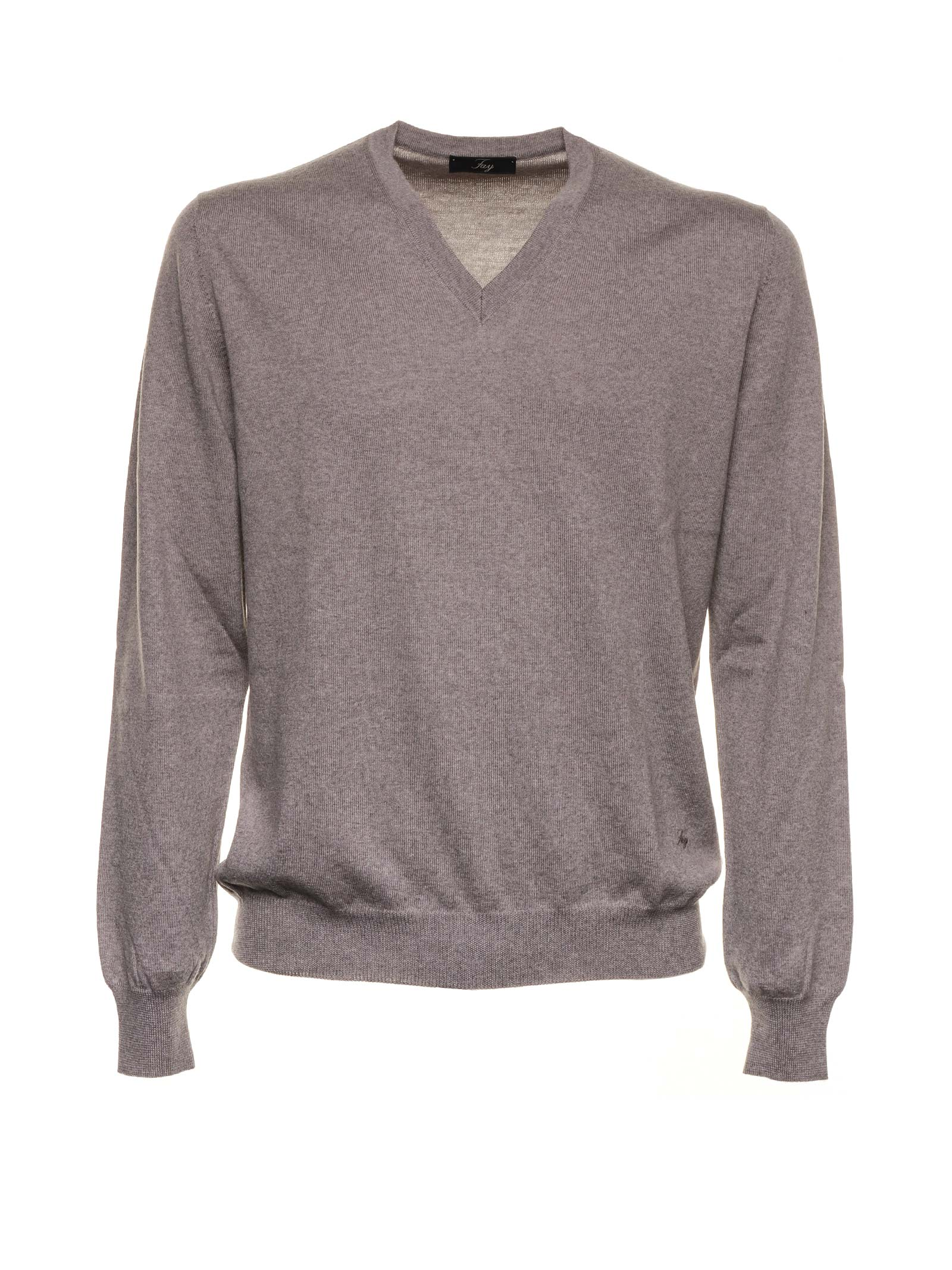 Fay Fay Kakhi Wool Sweater