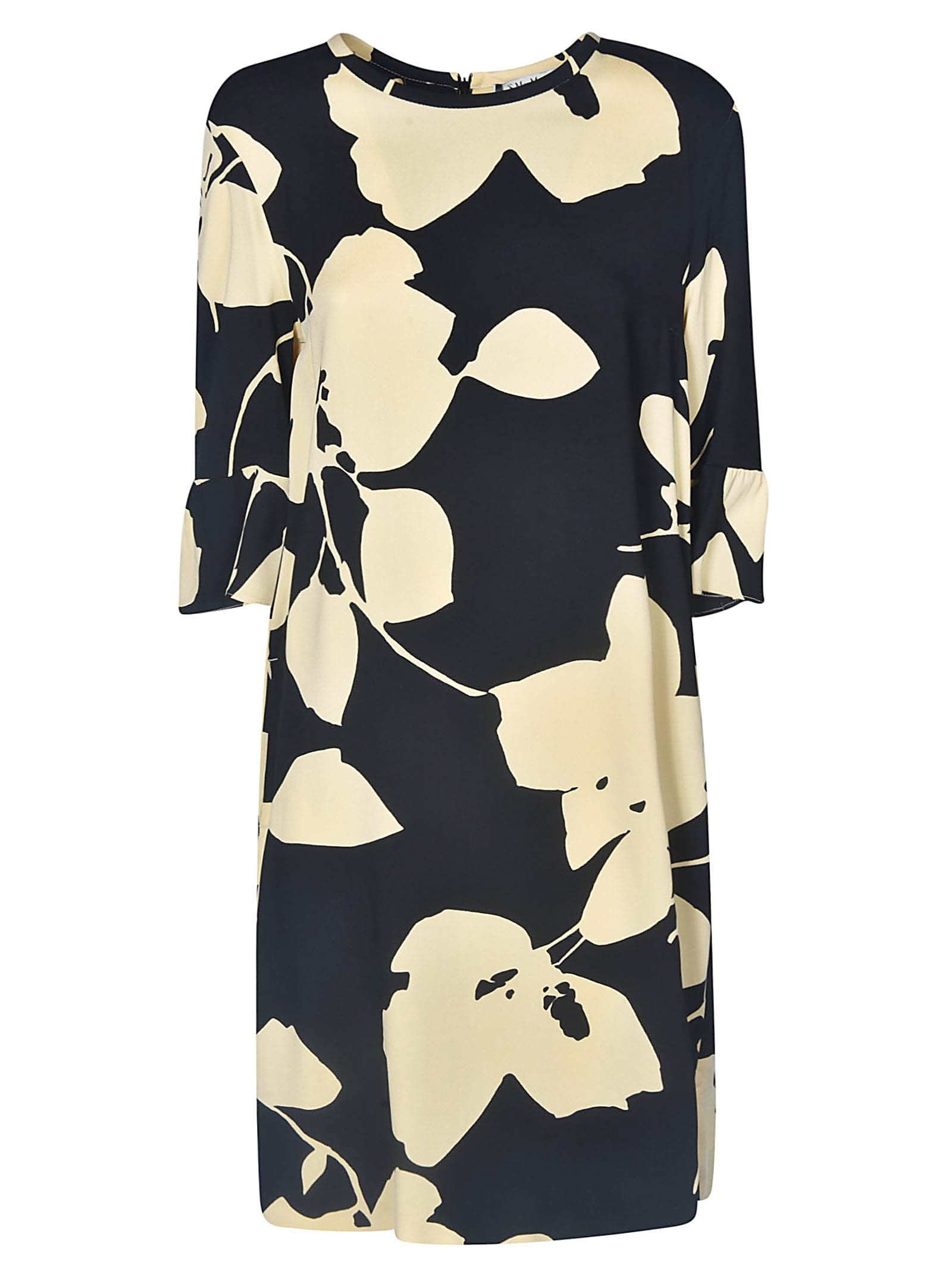 Buy Max Mara The Cube Leafy Print Dress online, shop Max Mara The Cube with free shipping