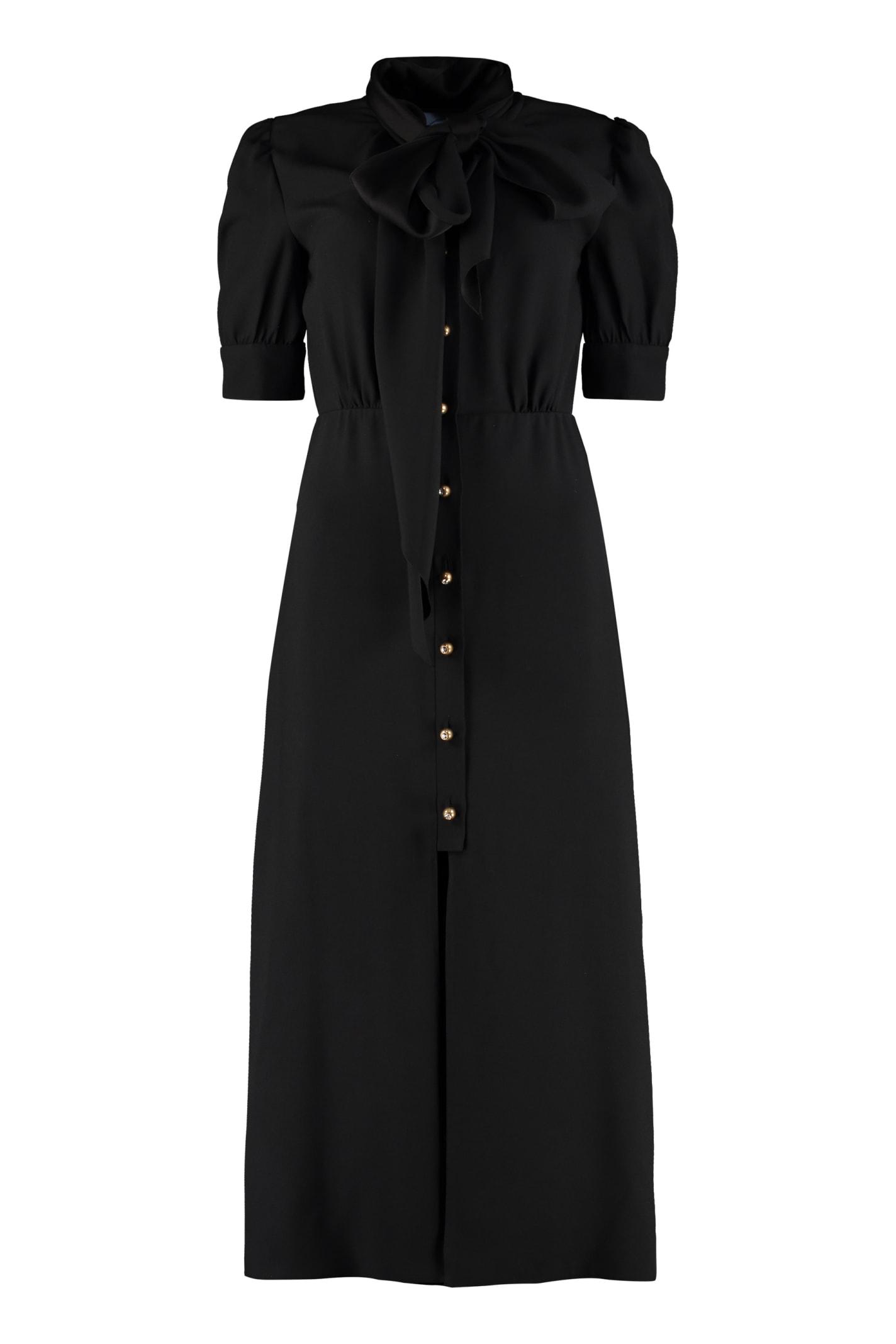 Buy Prada Satin Shirtdress online, shop Prada with free shipping