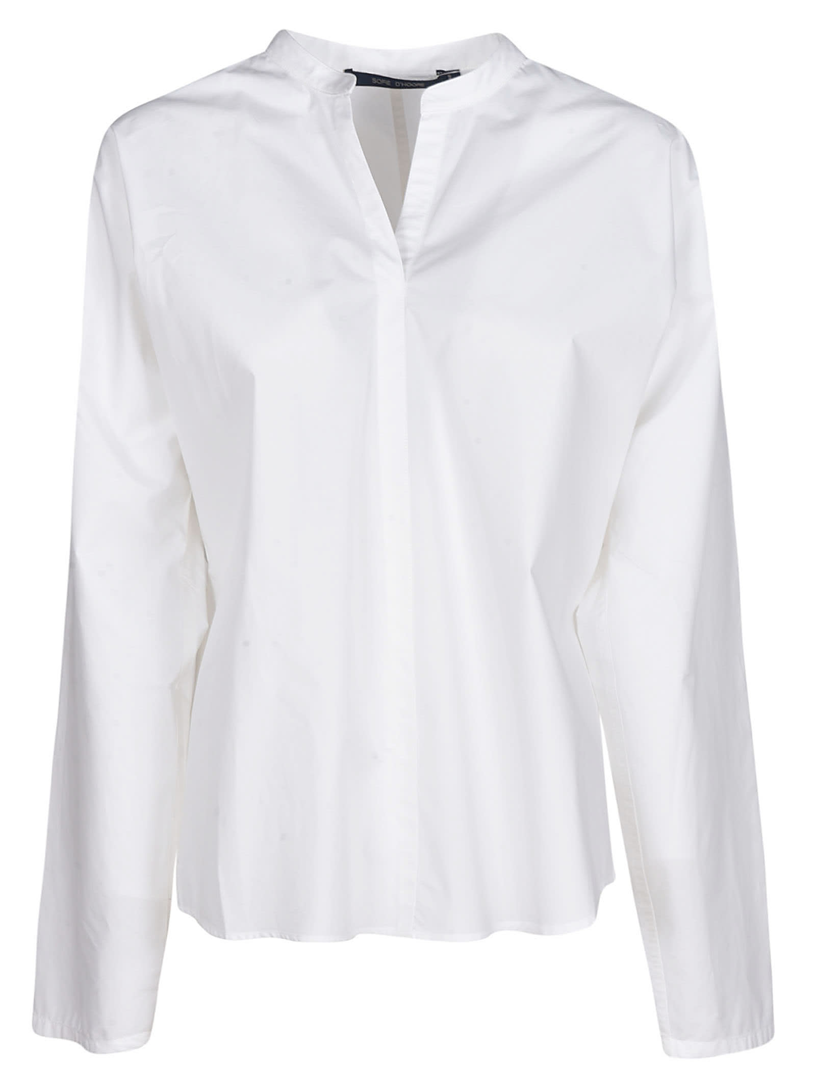 Sofie dHoore Stand-up Collar Shirt