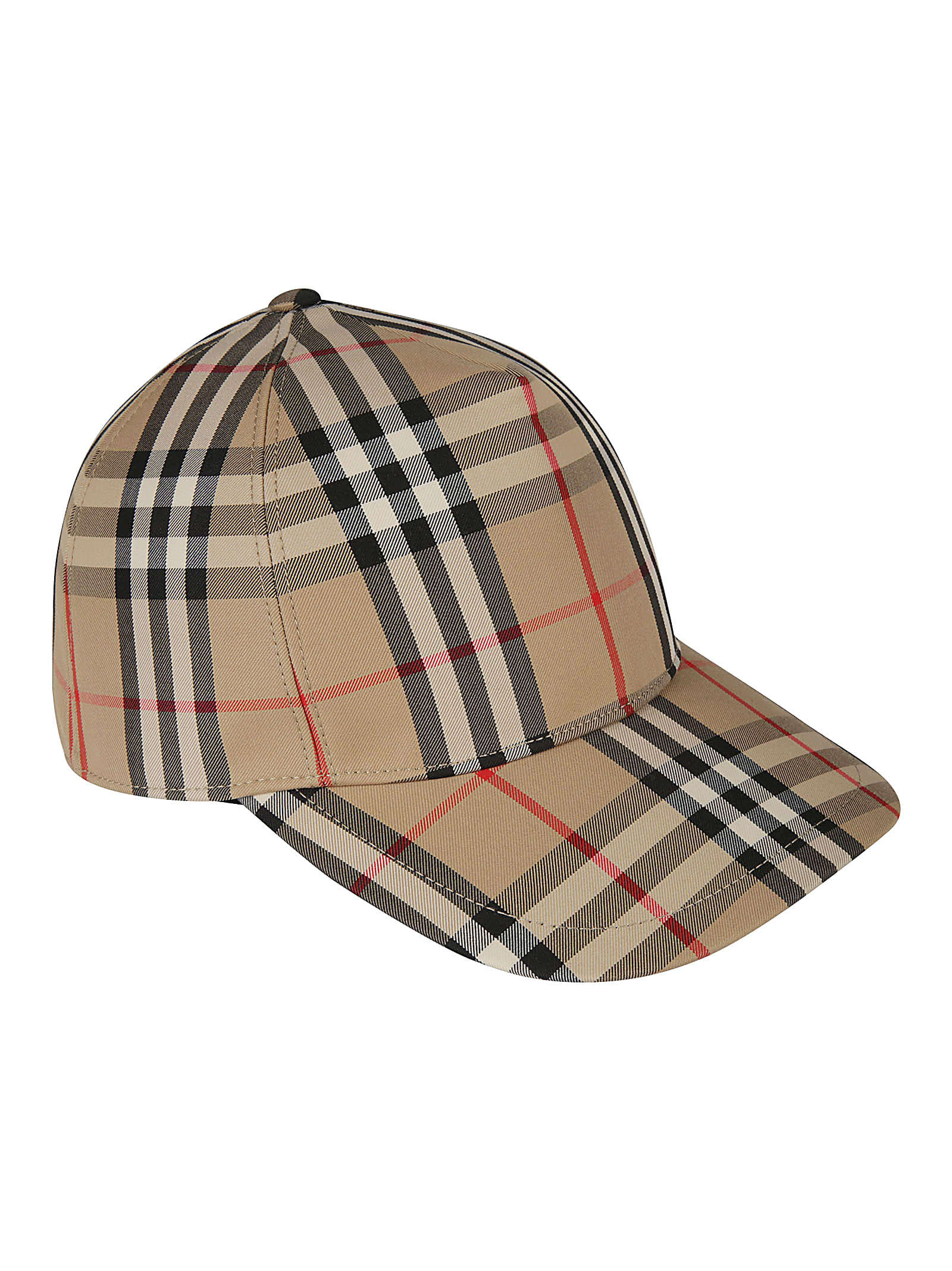 Burberry CHECK PRINT CAP