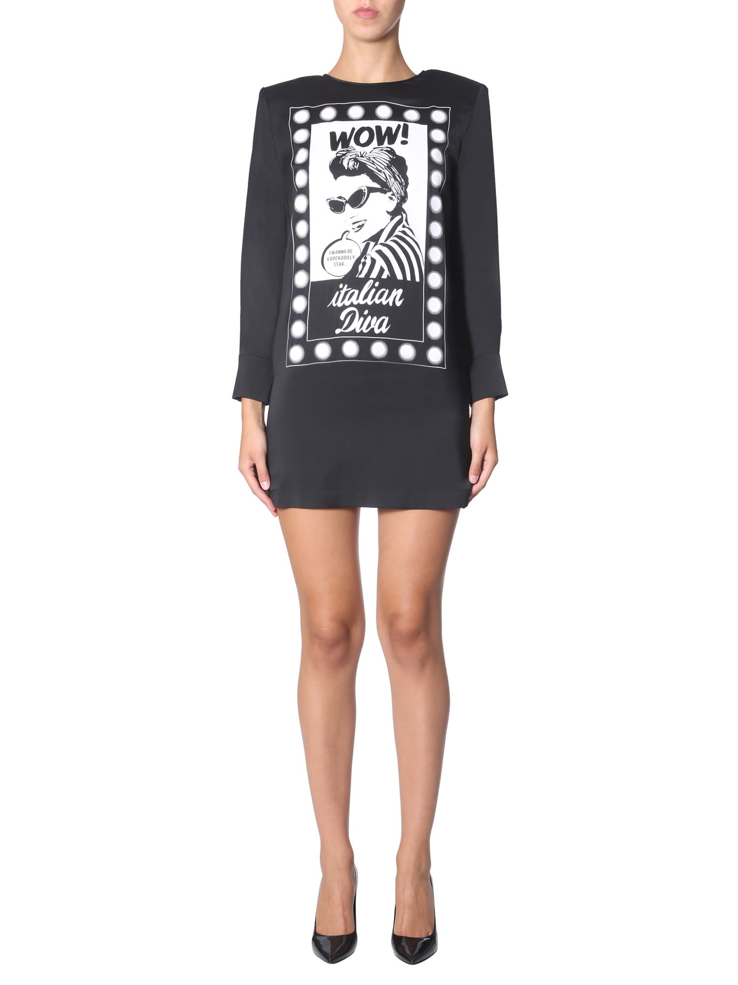 Boutique Moschino Crew Neck Dress