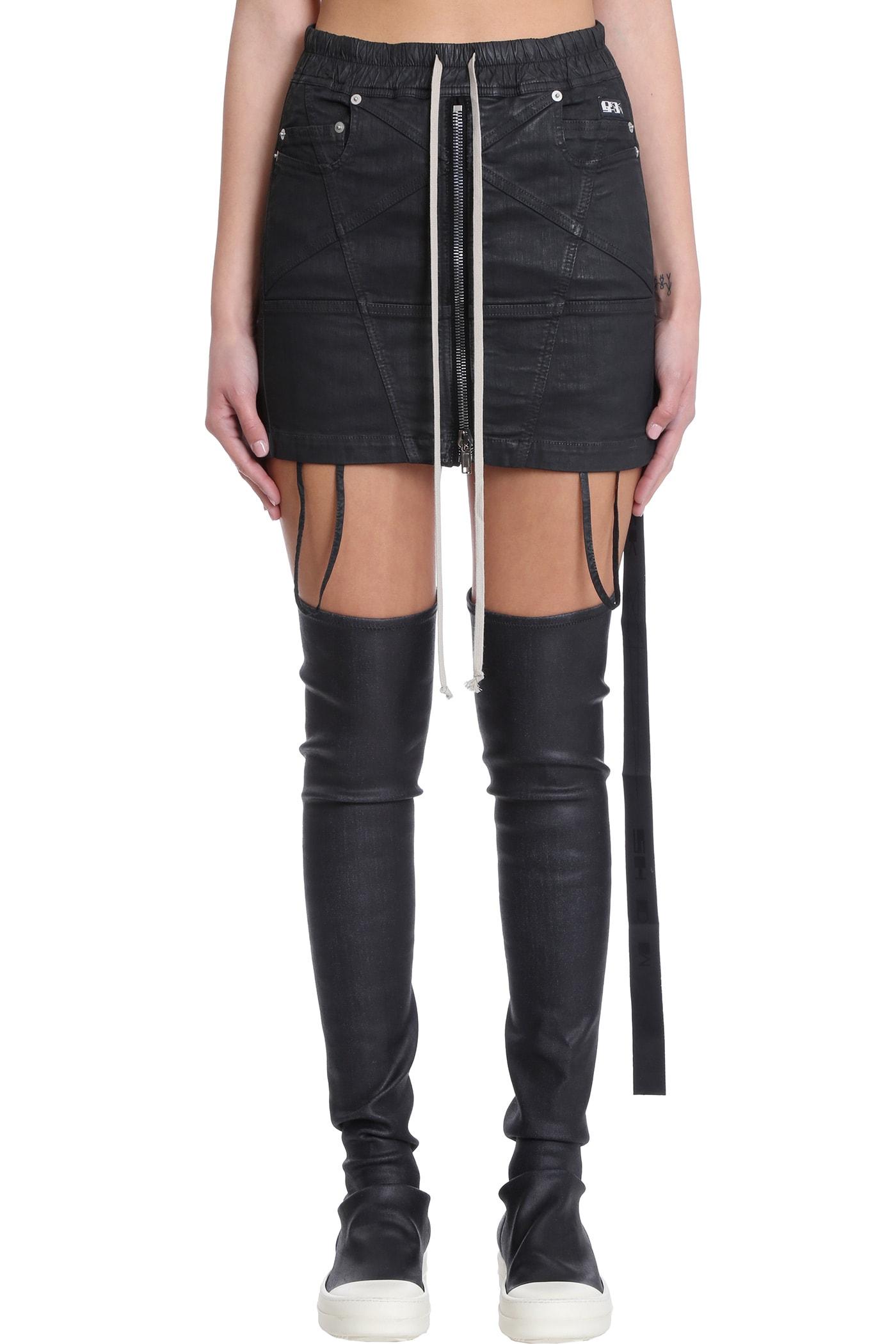 Skirt In Black Polyester