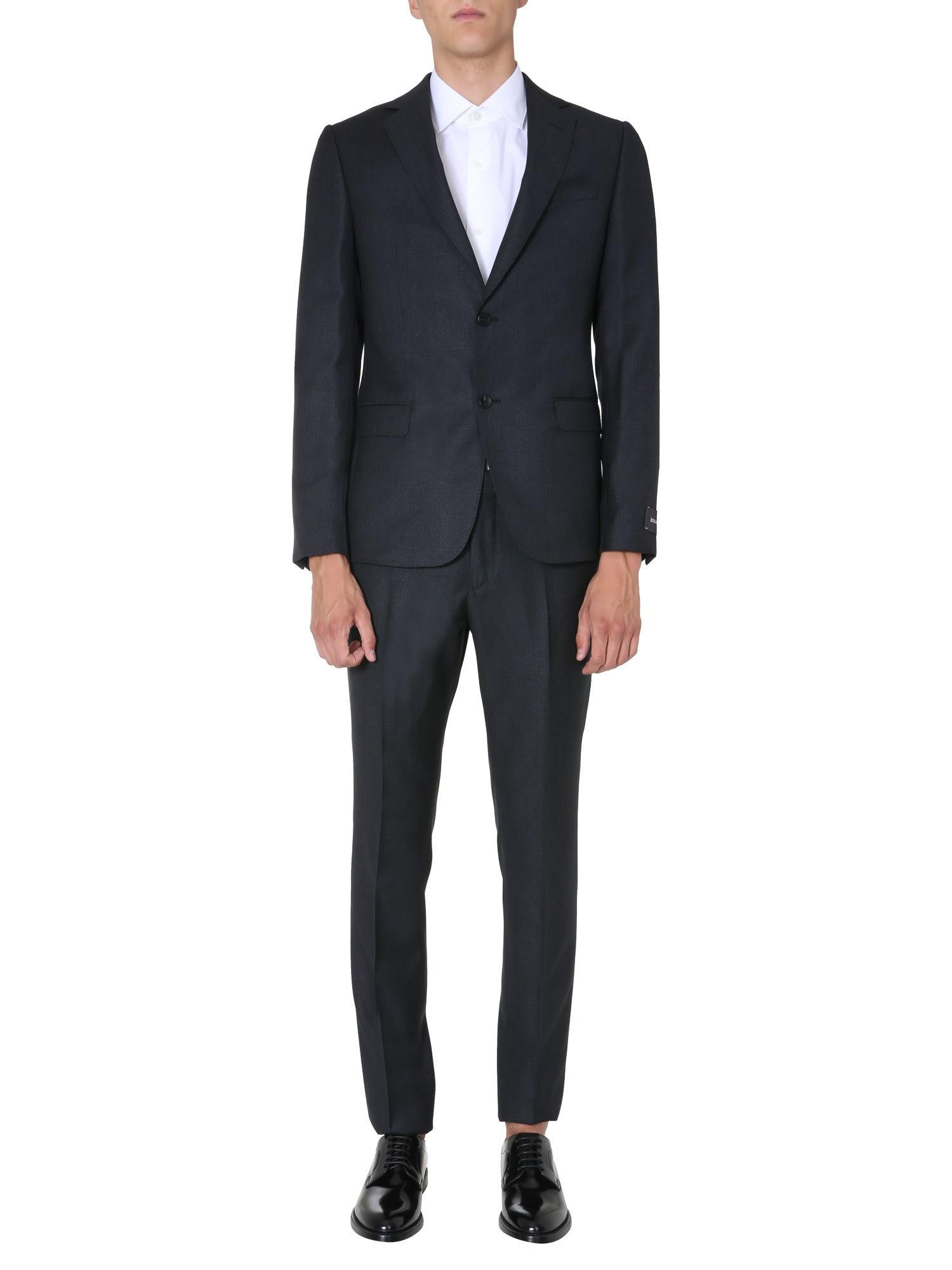 Z Zegna Slim Fit Suit