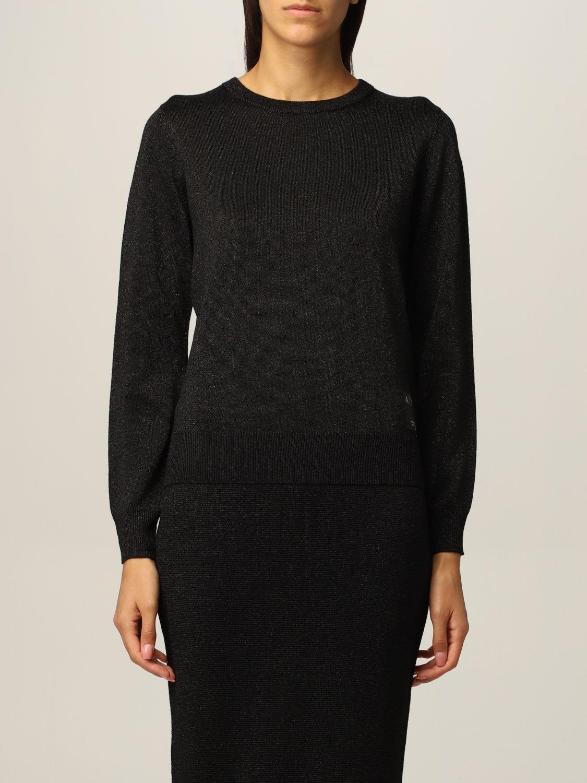 Armani Exchange Sweater Lurex Crewneck