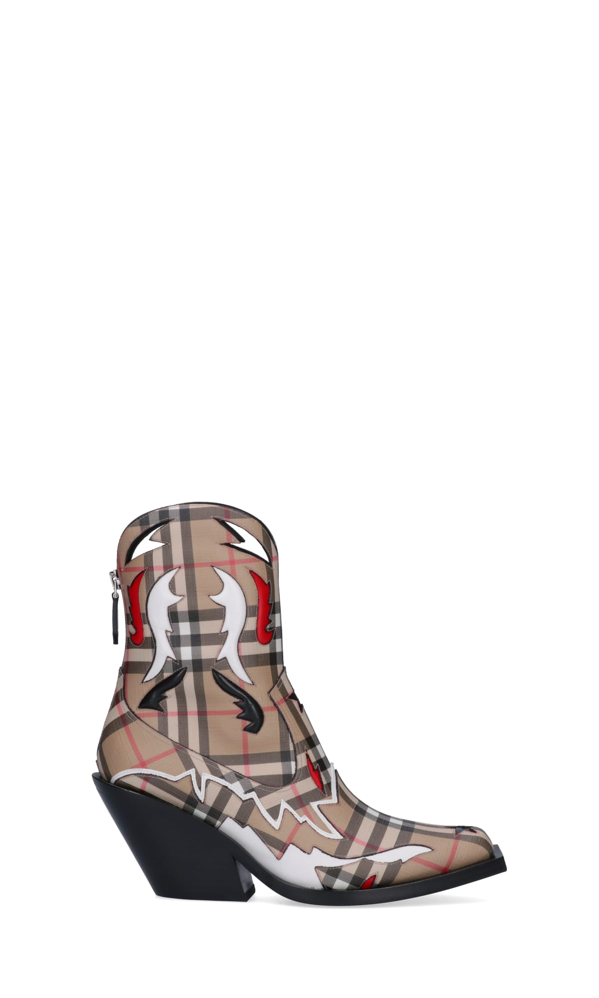 Vintage Check Boots