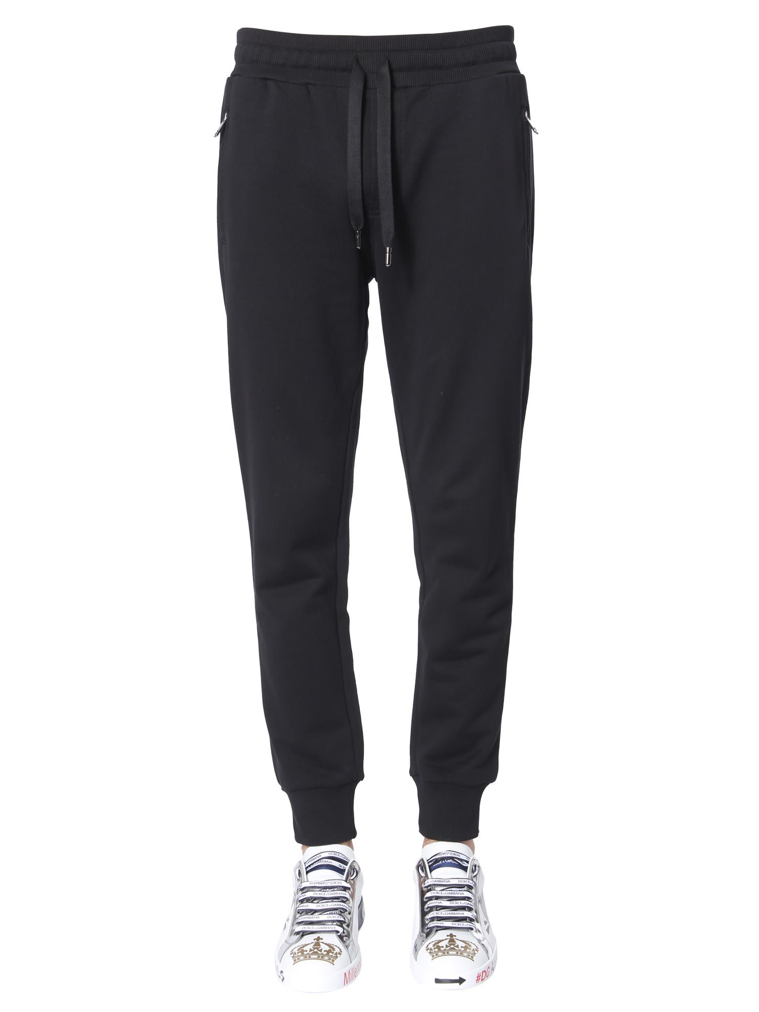 Dolce & Gabbana Jogging Pants In Nero