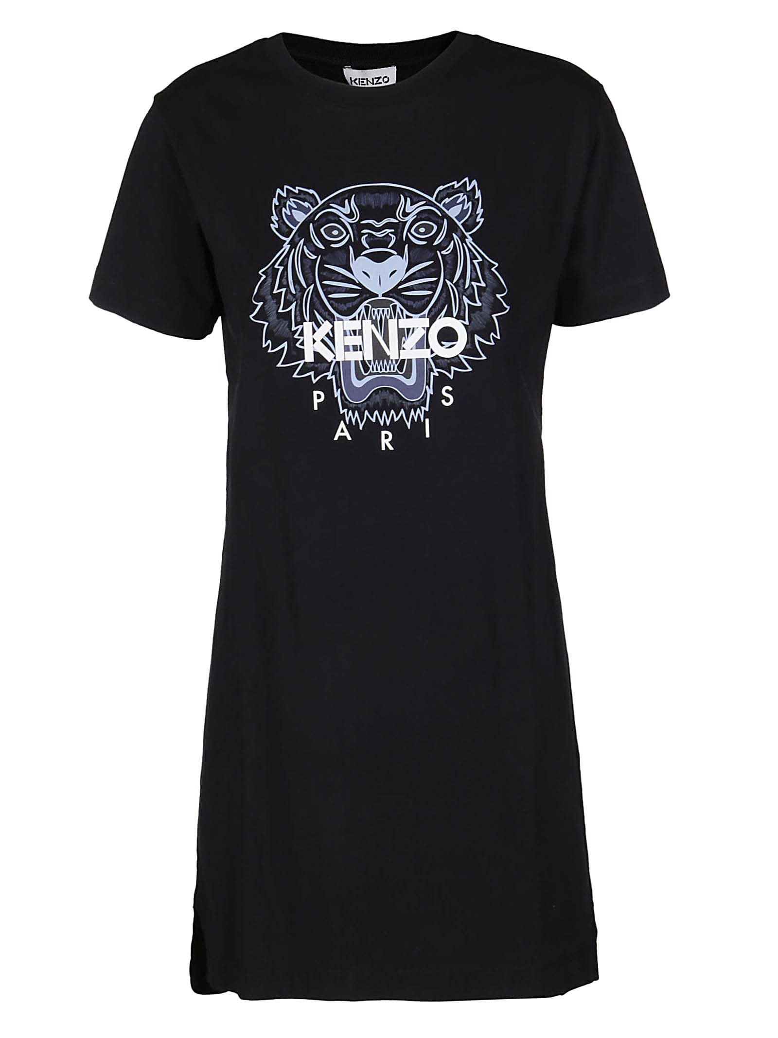 Kenzo Cottons BLACK COTTON DRESS
