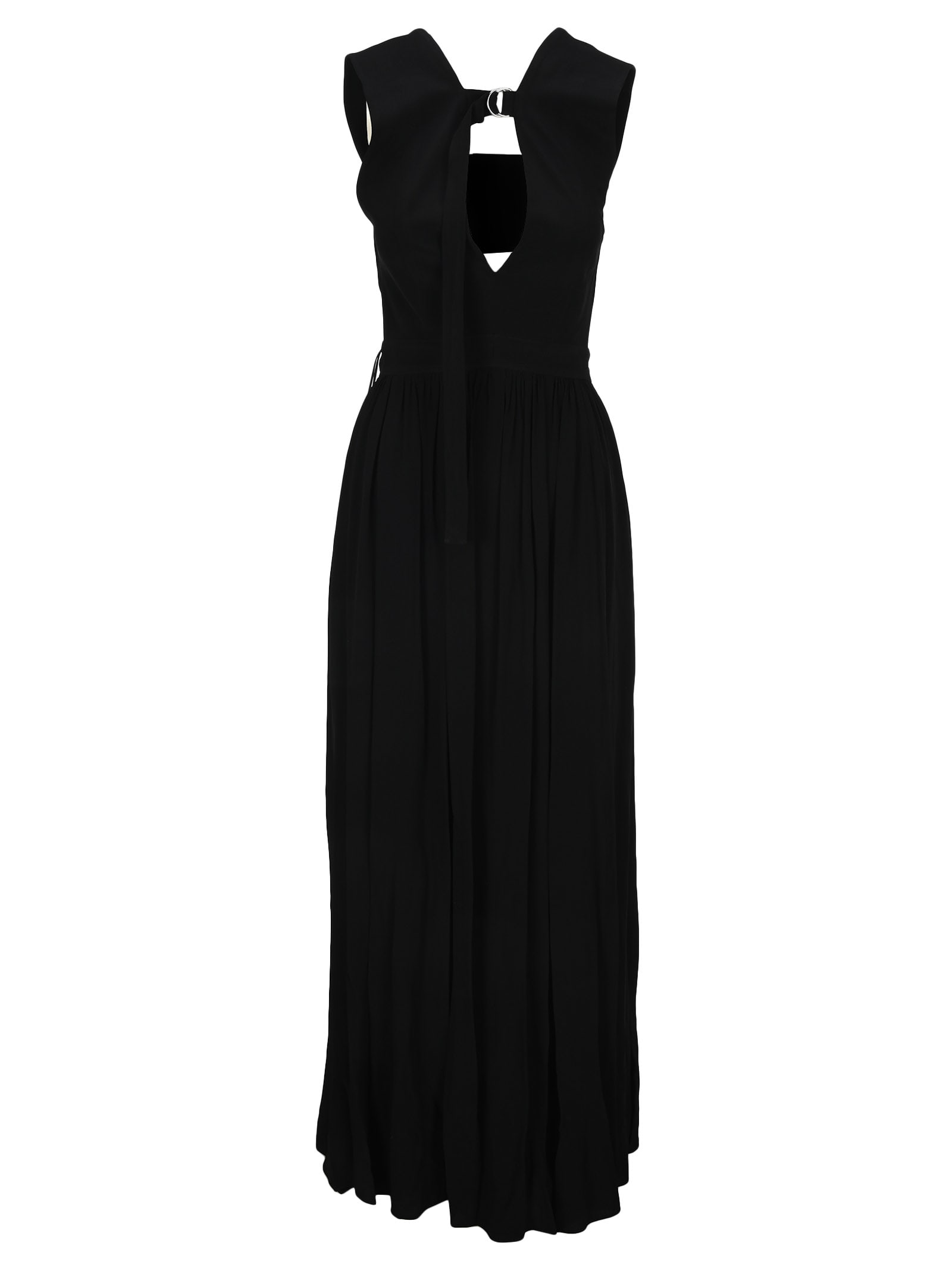 Buy Proenza Schouler Sleeveless V-neck Maxi Dress online, shop Proenza Schouler with free shipping