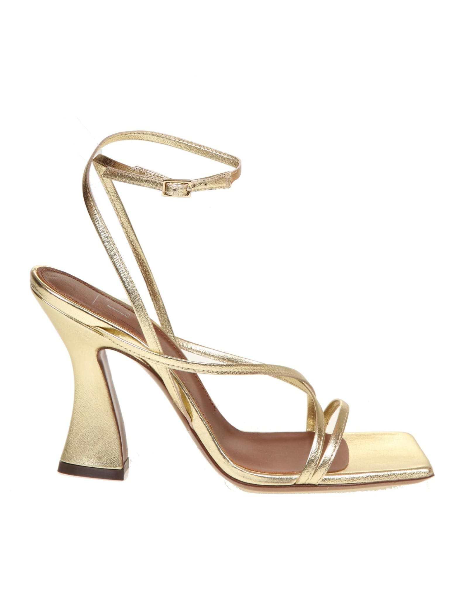 L'autre Chose LAUTRE CHOOSE PLATINUM SANDAL