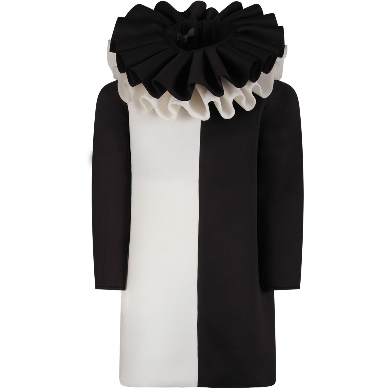 Nikolia Black And White new Day Girl Dress