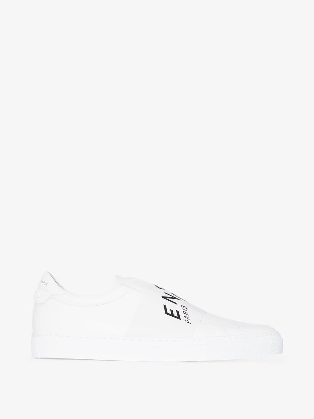 Givenchy URBAN SNEAKERS IN WHITE LEATHER WITH LOGO
