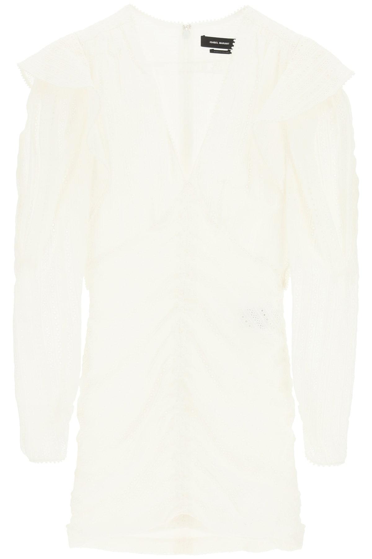 Buy Isabel Marant Getya Draped Mini Dress online, shop Isabel Marant with free shipping