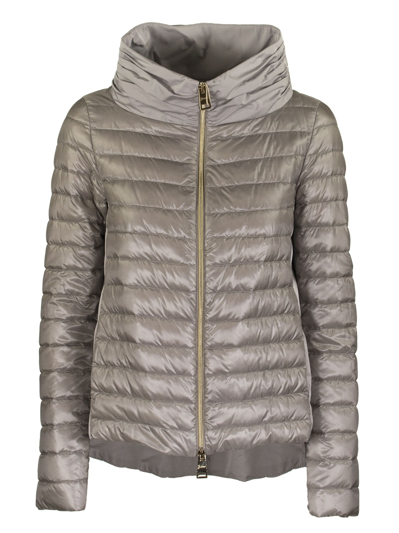 Herno Ladybug Down Jacket In Grey