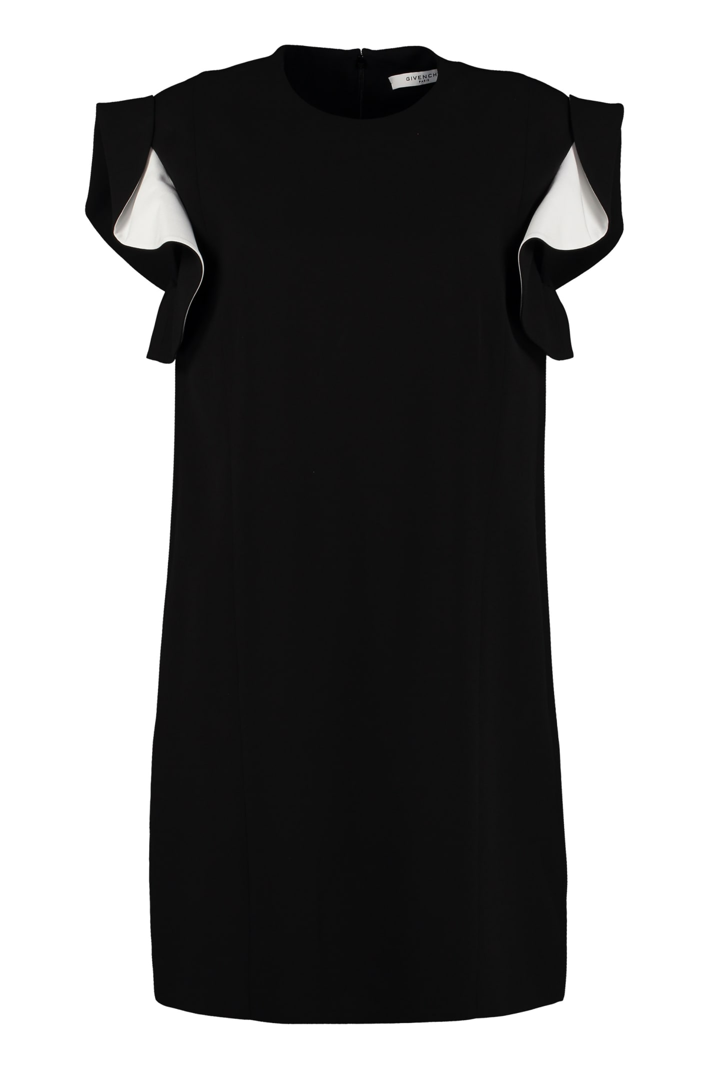 Buy Givenchy Ruffled Sheath Dress online, shop Givenchy with free shipping
