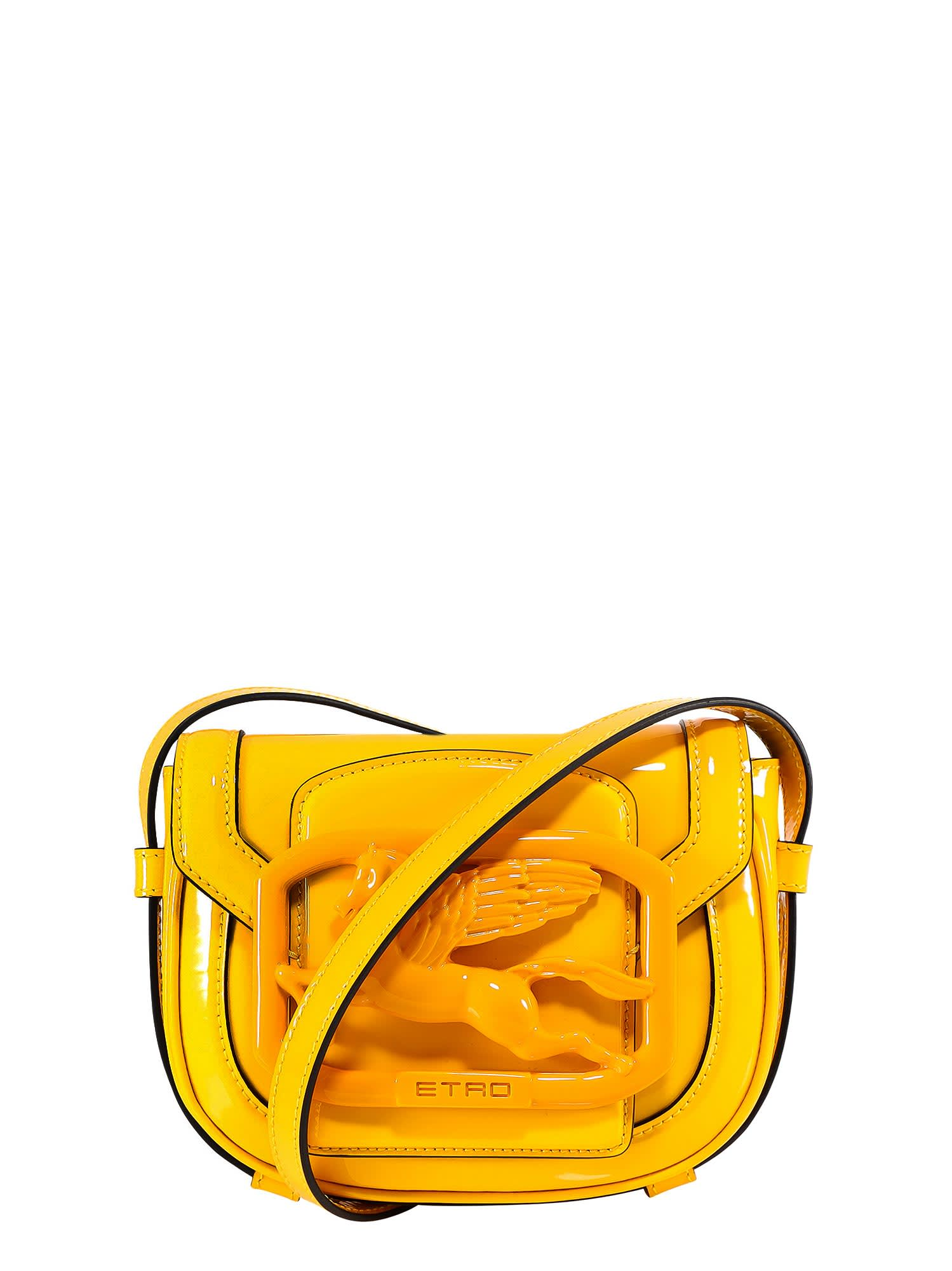Etro Leathers PEGASO SHOULDER BAG