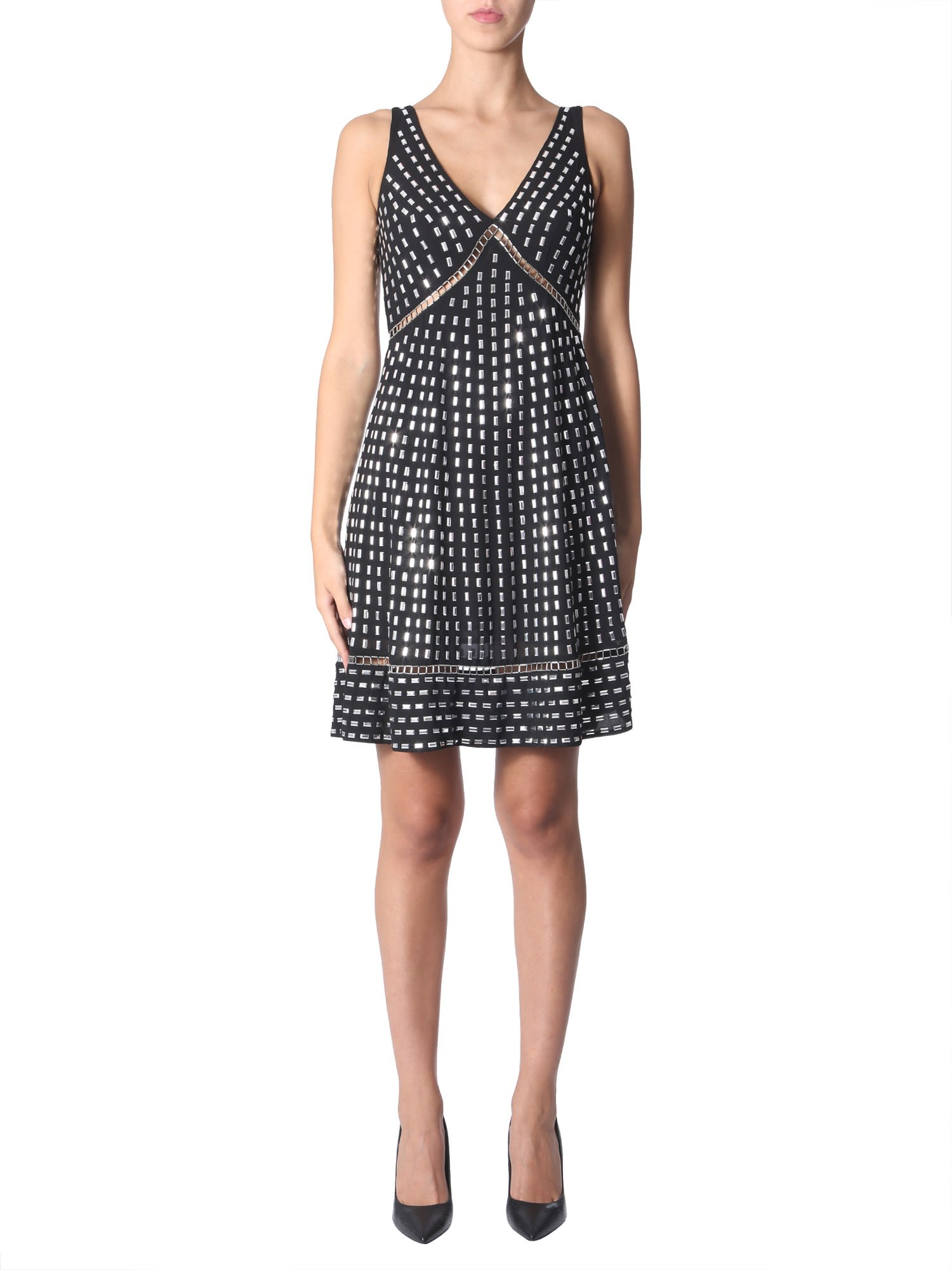 Buy MICHAEL Michael Kors Dress With Studs online, shop MICHAEL Michael Kors with free shipping