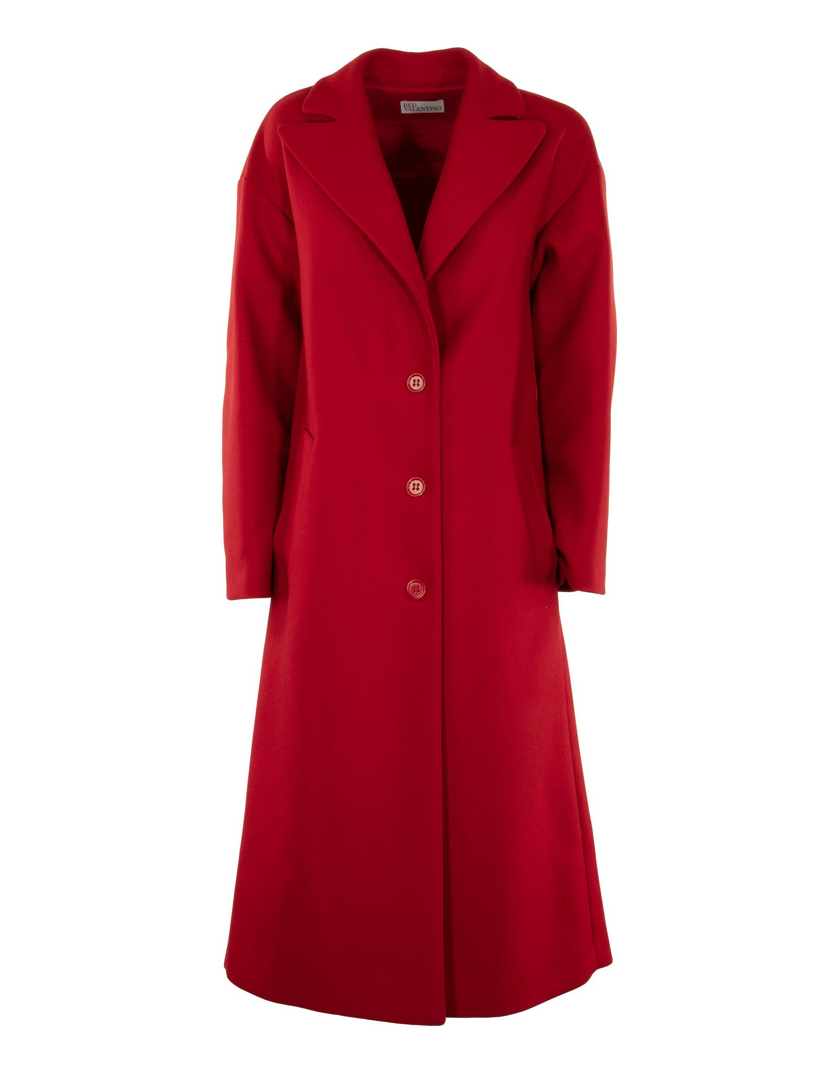 Photo of  RED Valentino Cappotto Rosso- shop RED Valentino jackets online sales